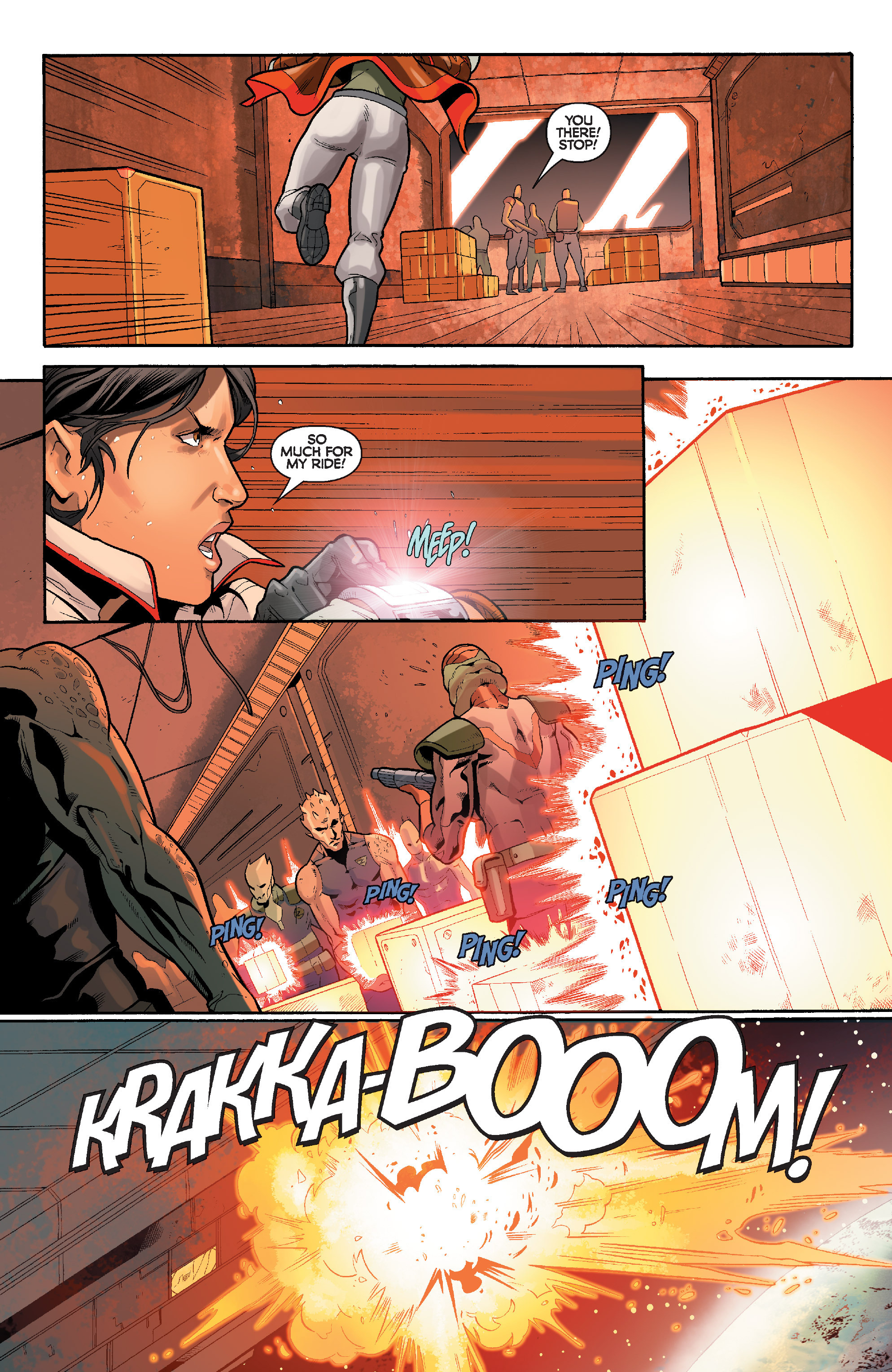 Read online Star Wars: Knight Errant - Deluge comic -  Issue #4 - 13