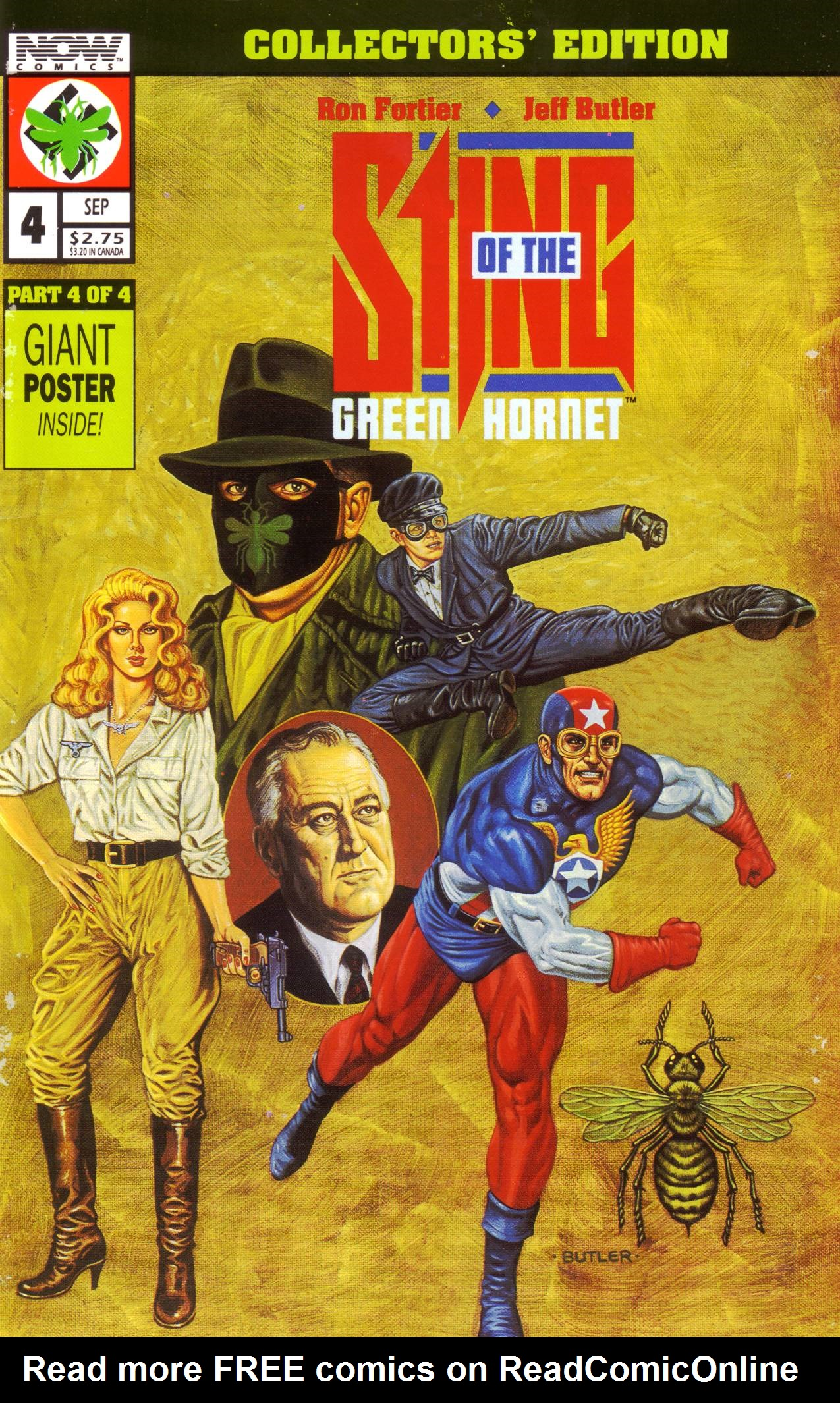 Read online Sting of The Green Hornet comic -  Issue #4 - 1