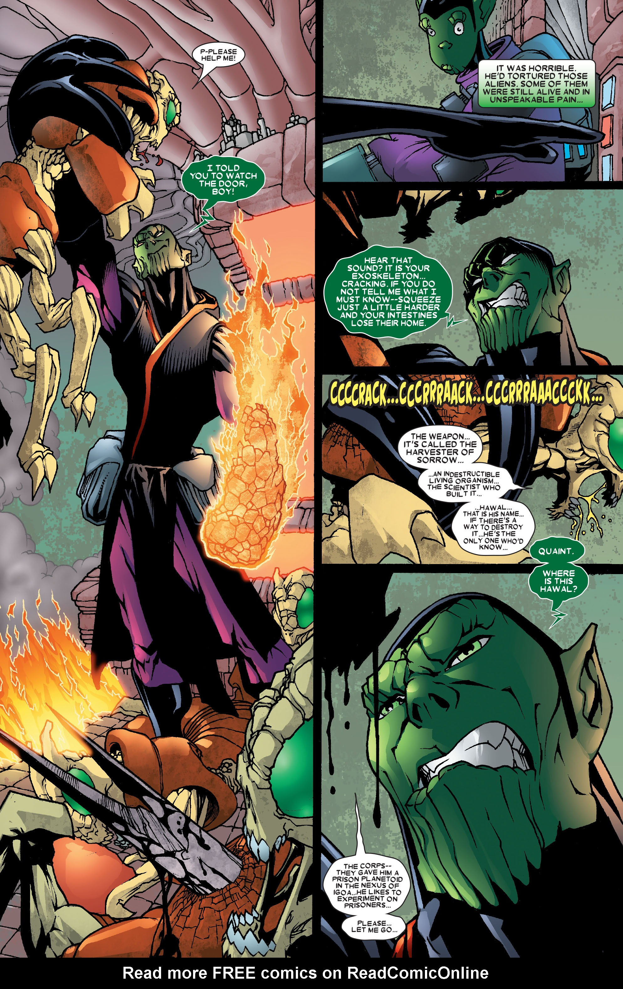 Read online Annihilation: Super-Skrull comic -  Issue #2 - 6