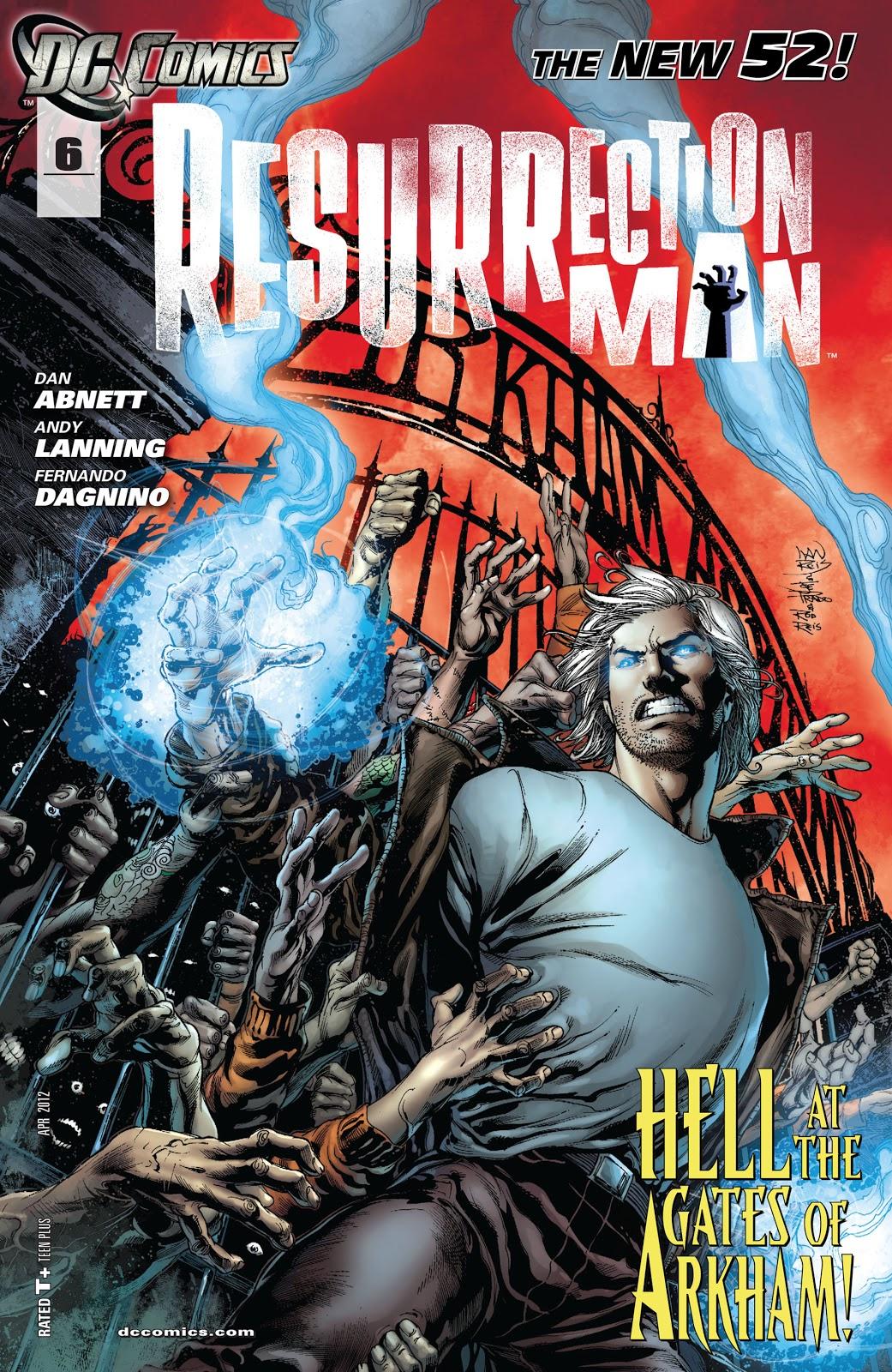 Resurrection Man (2011) 6 Page 1