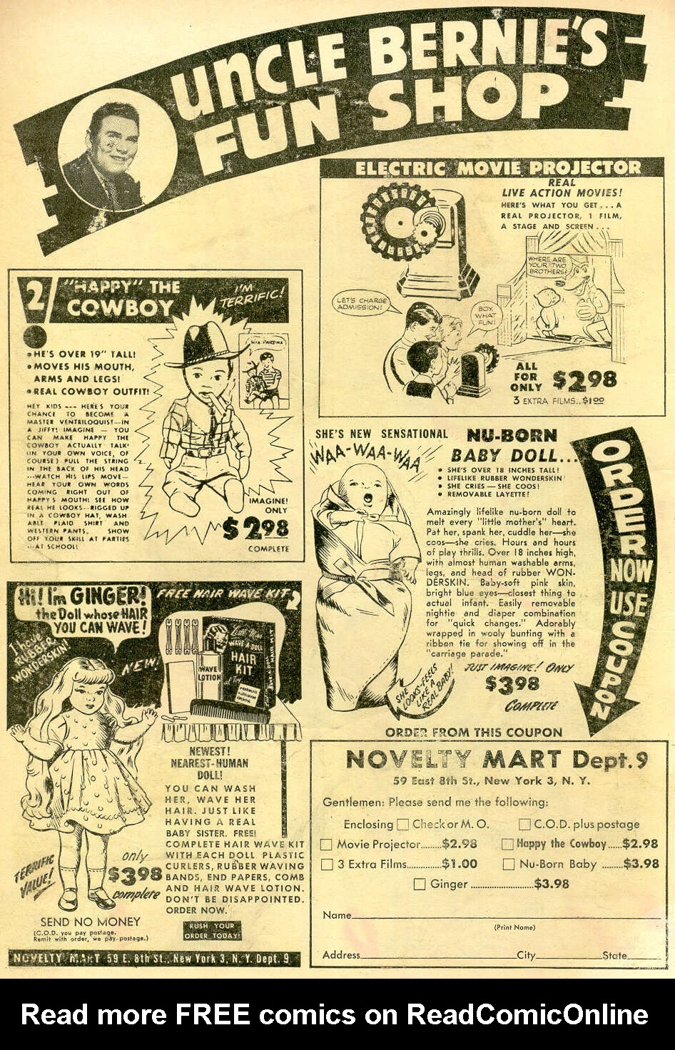 Read online All-Star Western (1951) comic -  Issue #68 - 2