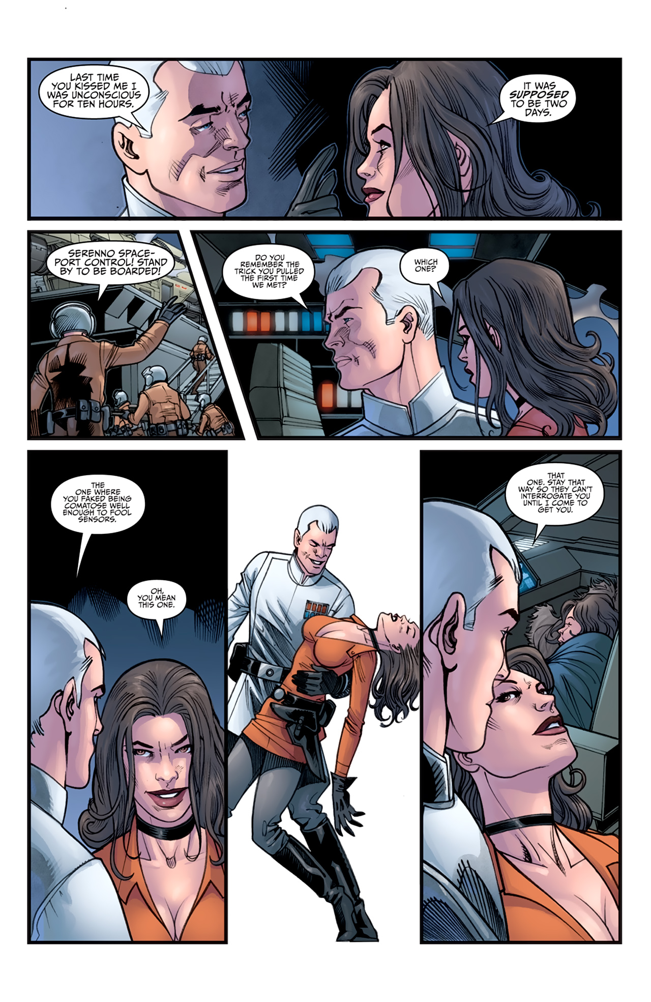 Read online Star Wars: Agent Of The Empire - Hard Targets comic -  Issue #3 - 9