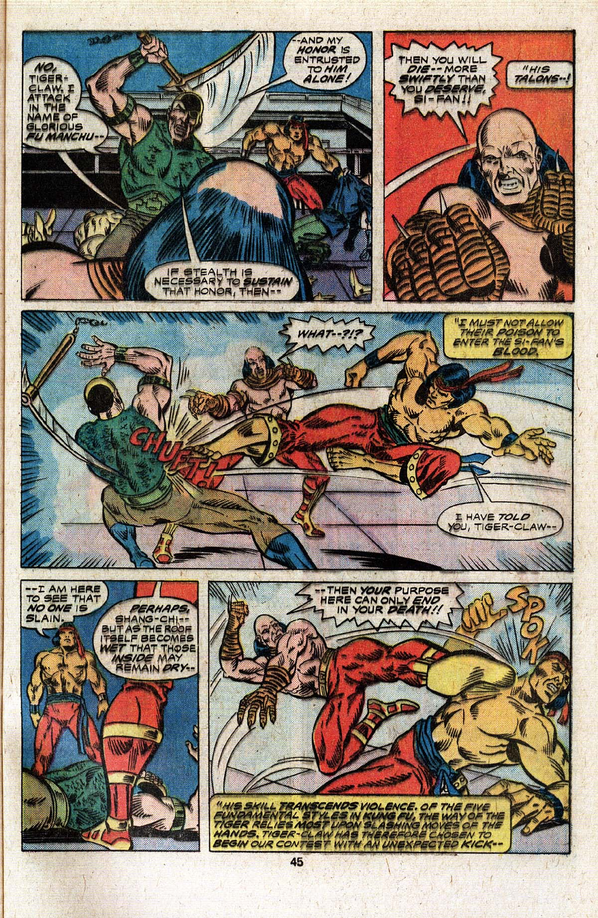 Read online Giant-Size Master of Kung Fu comic -  Issue #4 - 37