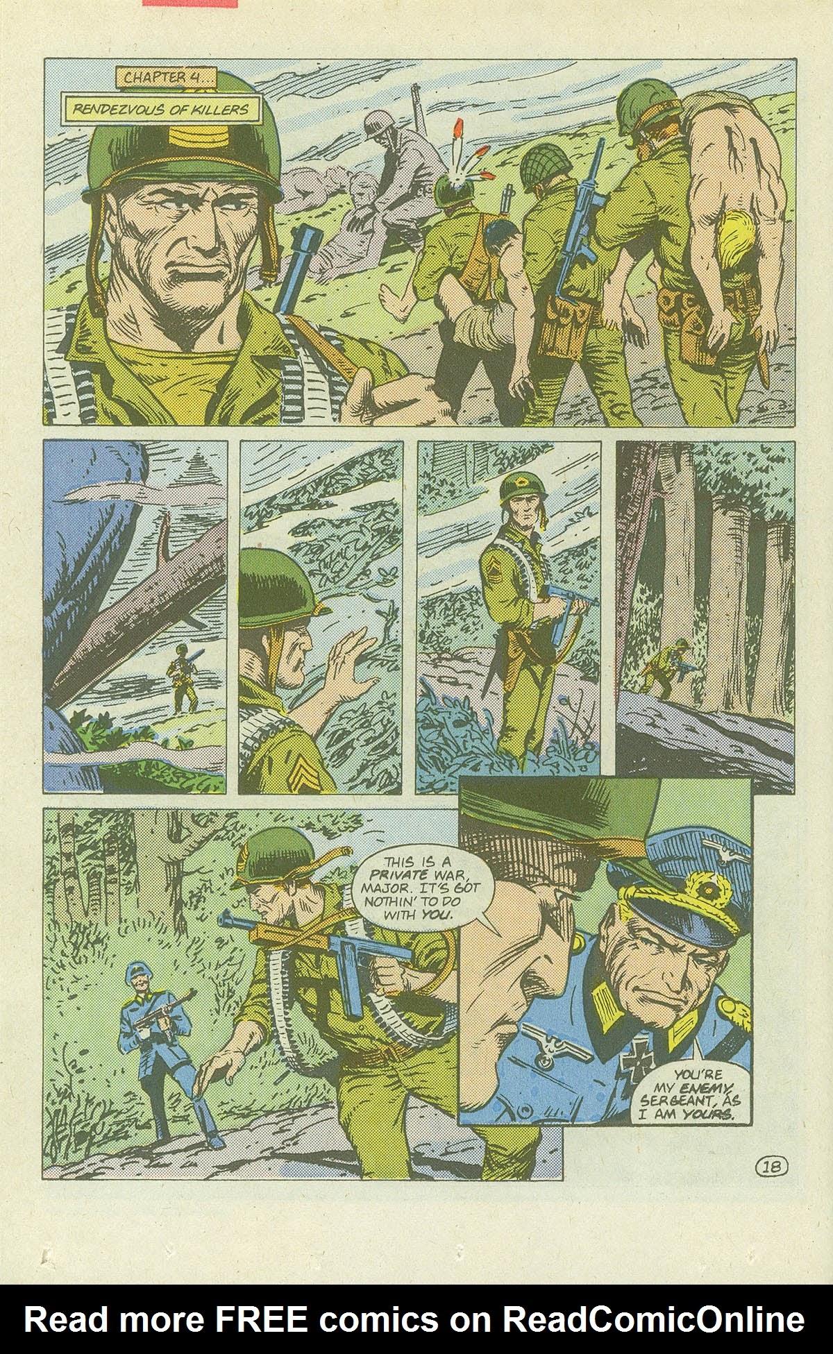 Read online Sgt. Rock comic -  Issue #420 - 25