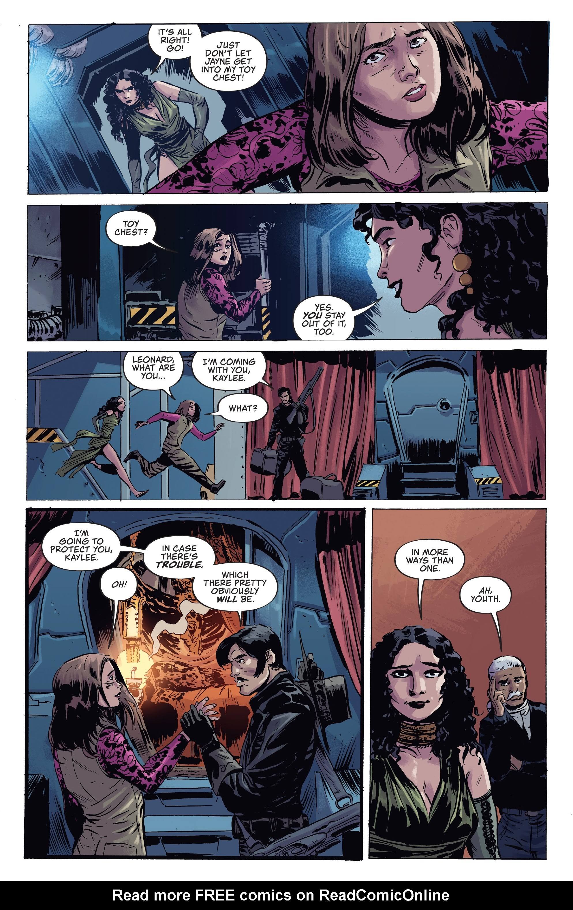 Read online Firefly comic -  Issue #7 - 6