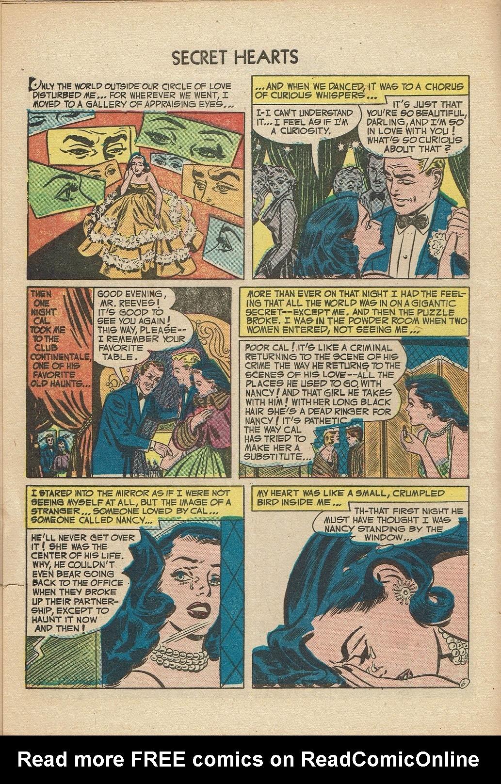Read online Secret Hearts comic -  Issue #14 - 8
