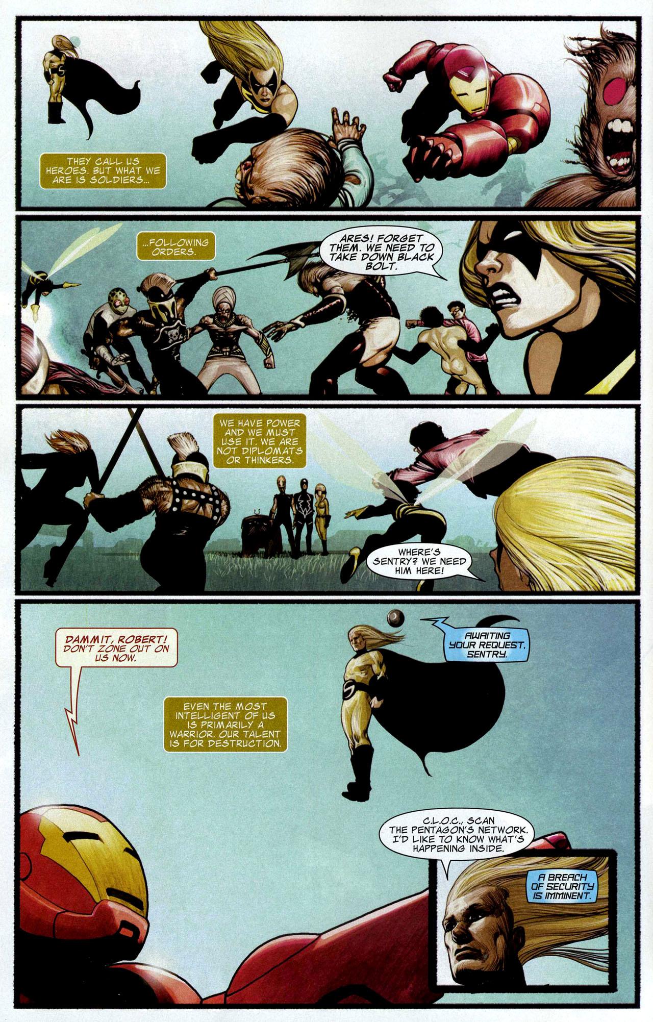 Read online Silent War comic -  Issue #5 - 5
