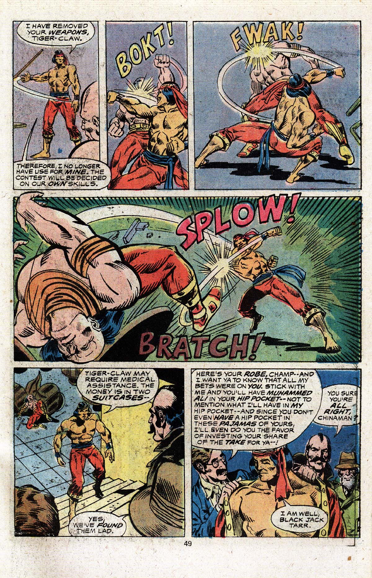 Read online Giant-Size Master of Kung Fu comic -  Issue #4 - 41
