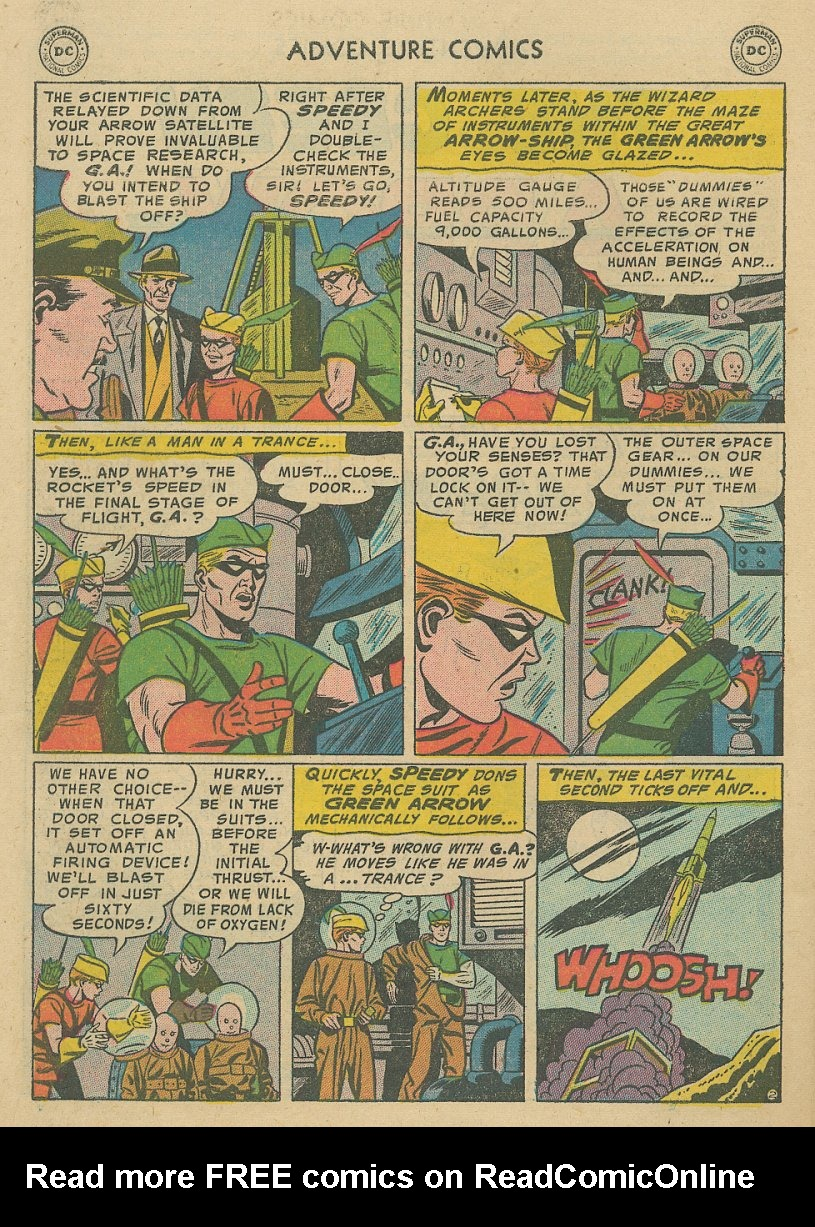 Read online Adventure Comics (1938) comic -  Issue #221 - 27