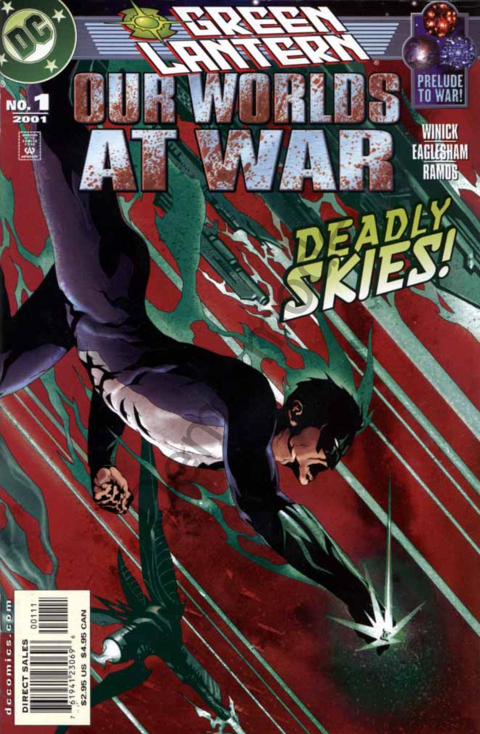 Read online Green Lantern: Our Worlds At War comic -  Issue # Full - 1