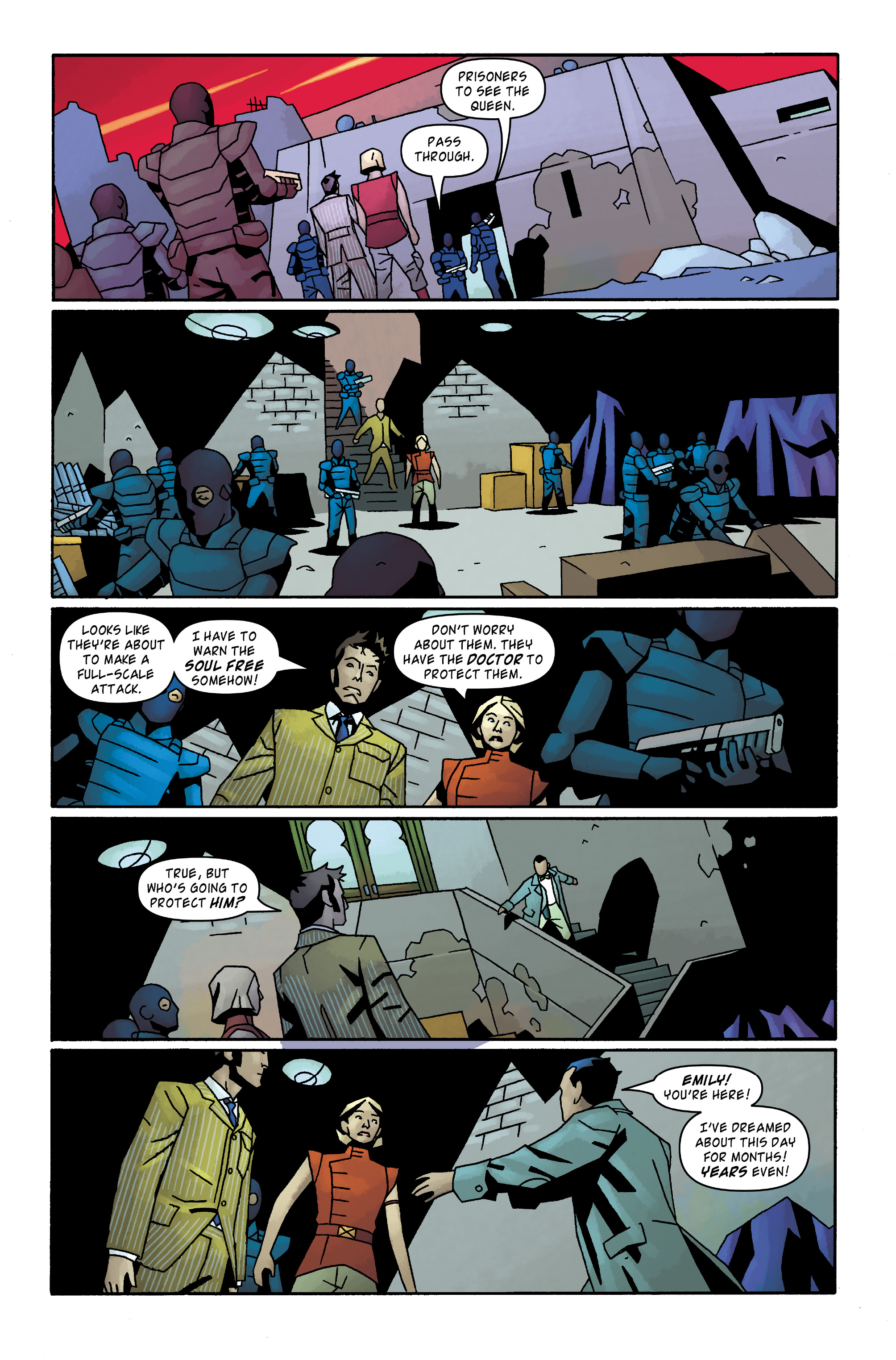 Read online Doctor Who: The Tenth Doctor Archives comic -  Issue #31 - 25