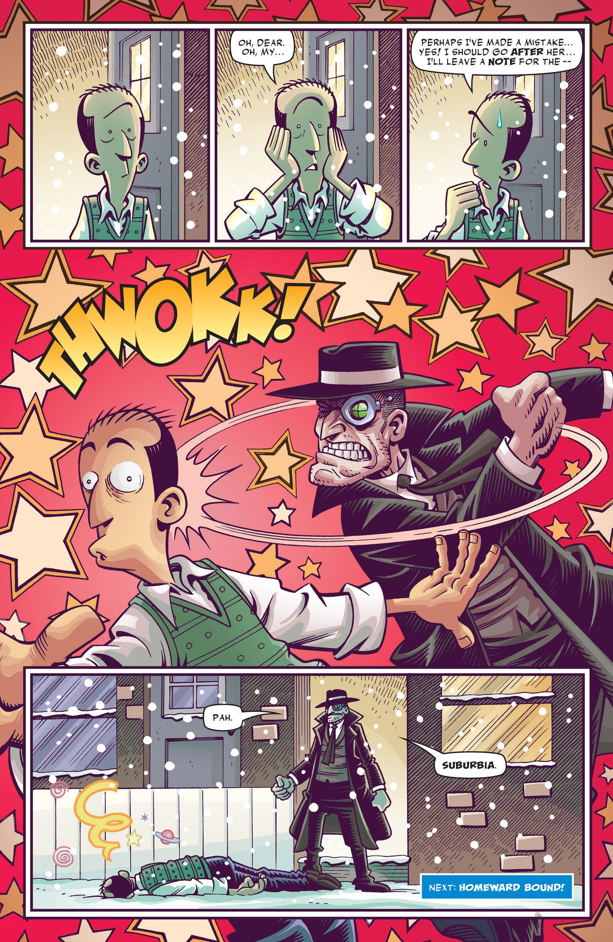 Read online Abigail And The Snowman comic -  Issue #3 - 26