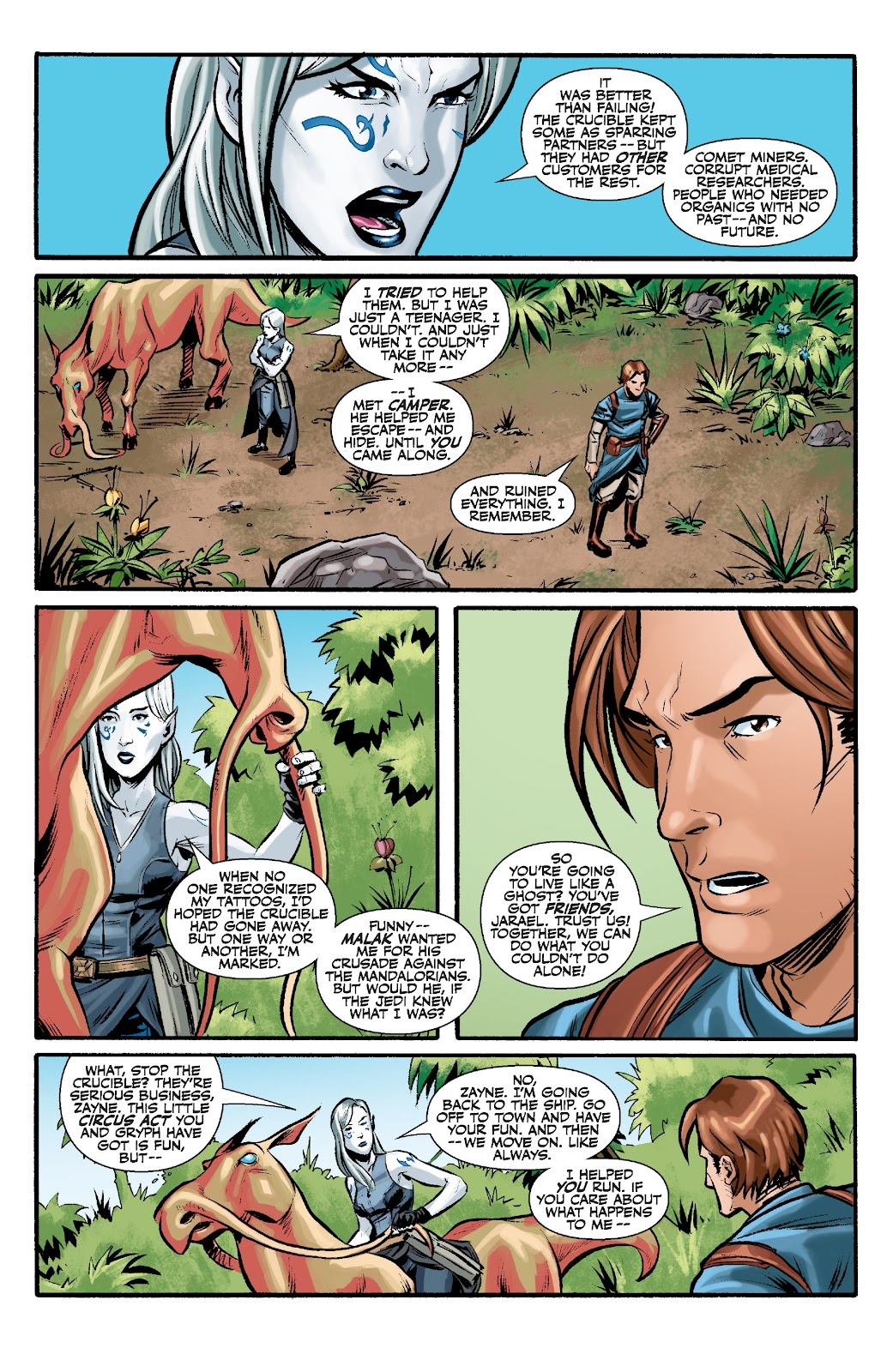 Read online Star Wars Legends: The Old Republic - Epic Collection comic -  Issue # TPB 3 (Part 2) - 3