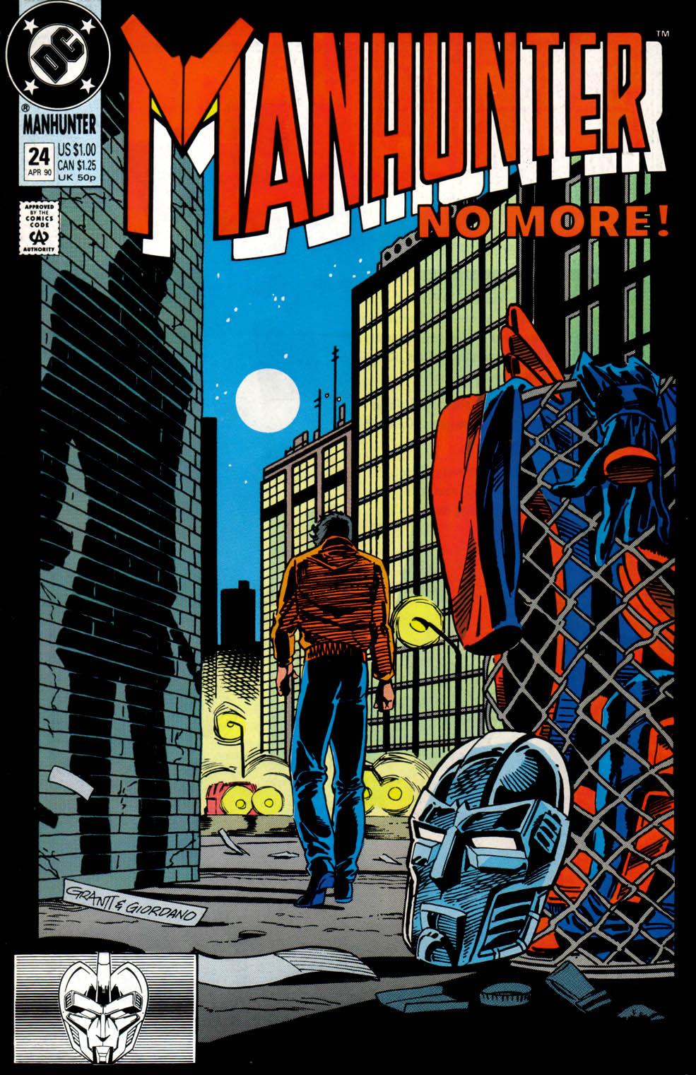 Manhunter (1988) issue 24 - Page 1