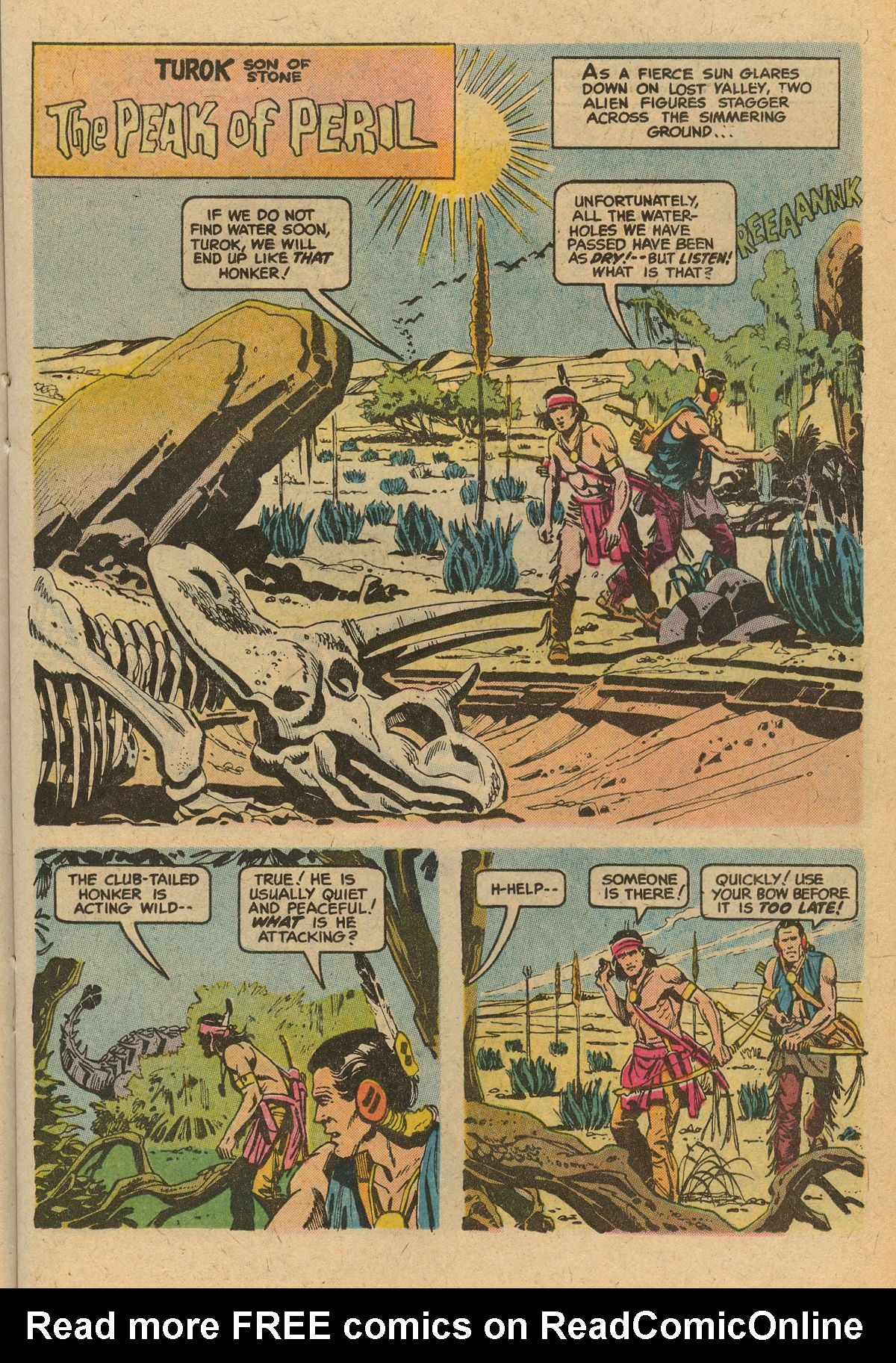 Read online Turok, Son of Stone comic -  Issue #115 - 23