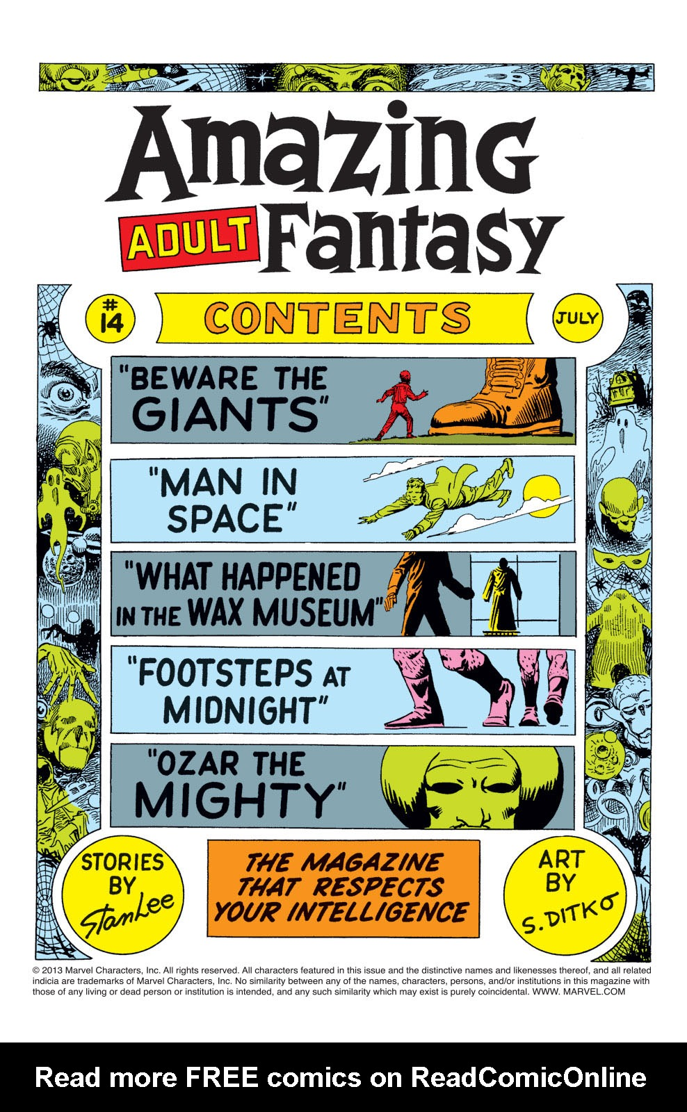 Read online Amazing Adult Fantasy comic -  Issue #14 - 2