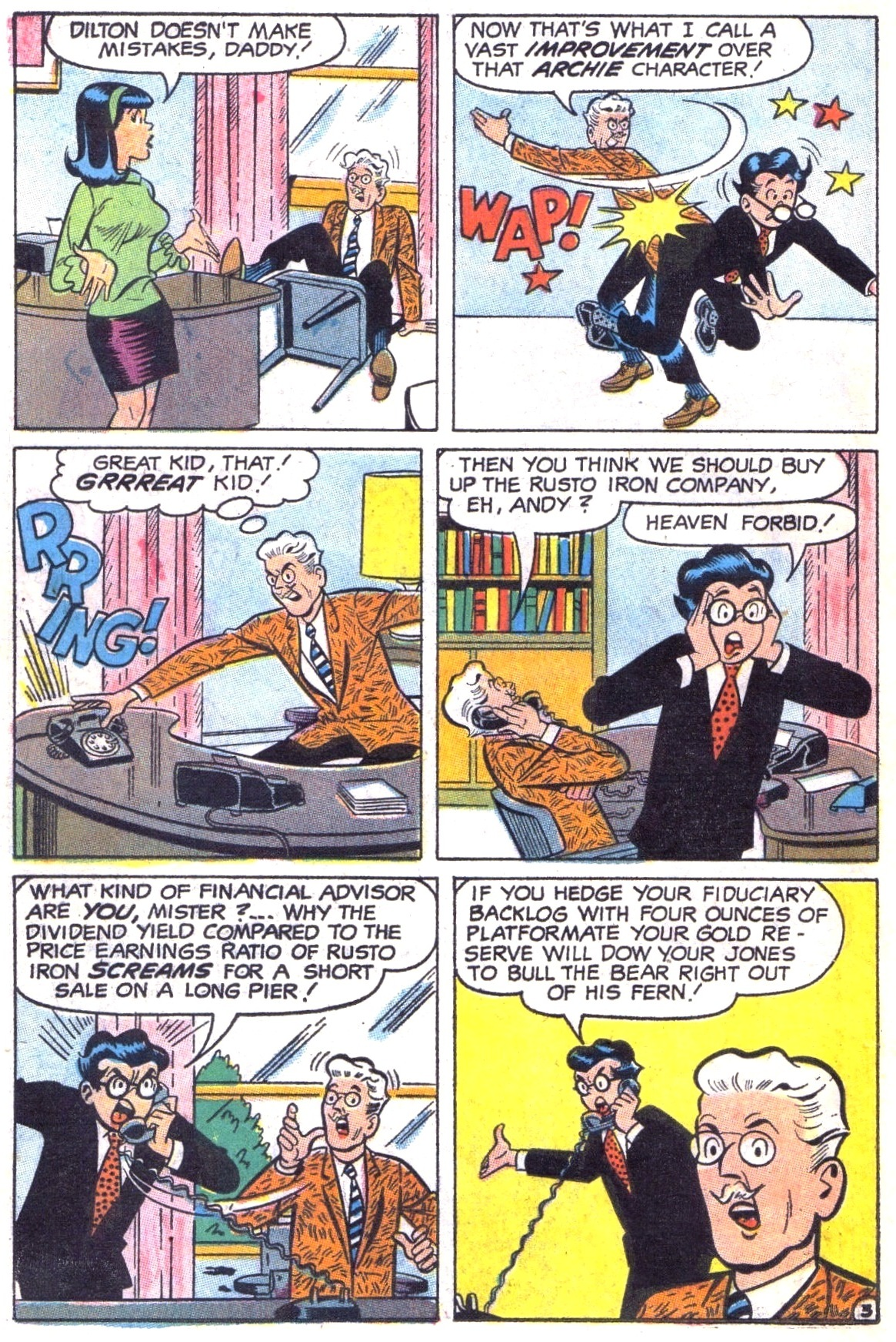 Read online Archie (1960) comic -  Issue #187 - 22