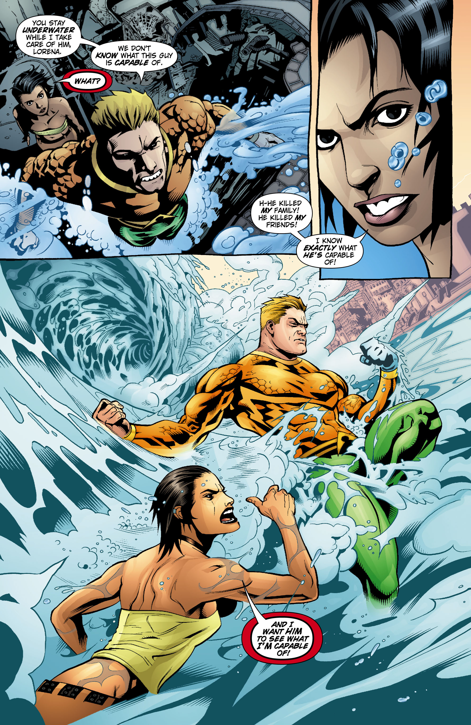 Read online Aquaman (2003) comic -  Issue #18 - 20