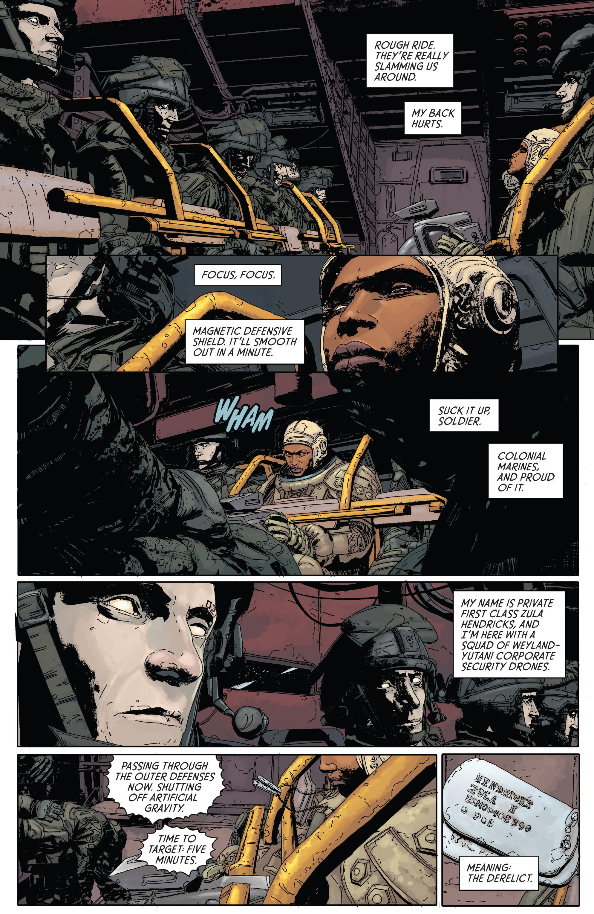 Read online Aliens: Defiance comic -  Issue #1 - 9