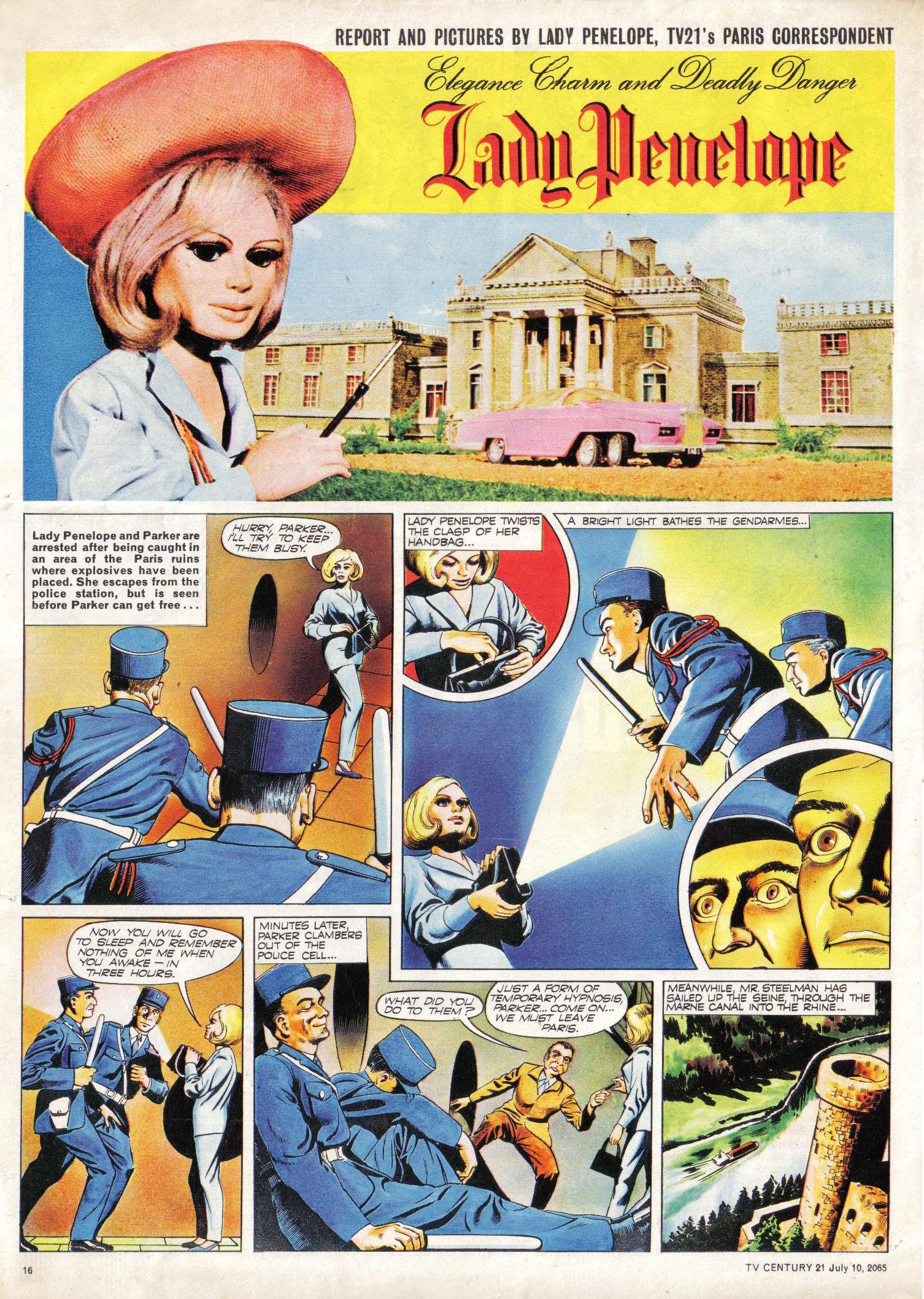 Read online TV Century 21 (TV 21) comic -  Issue #25 - 15