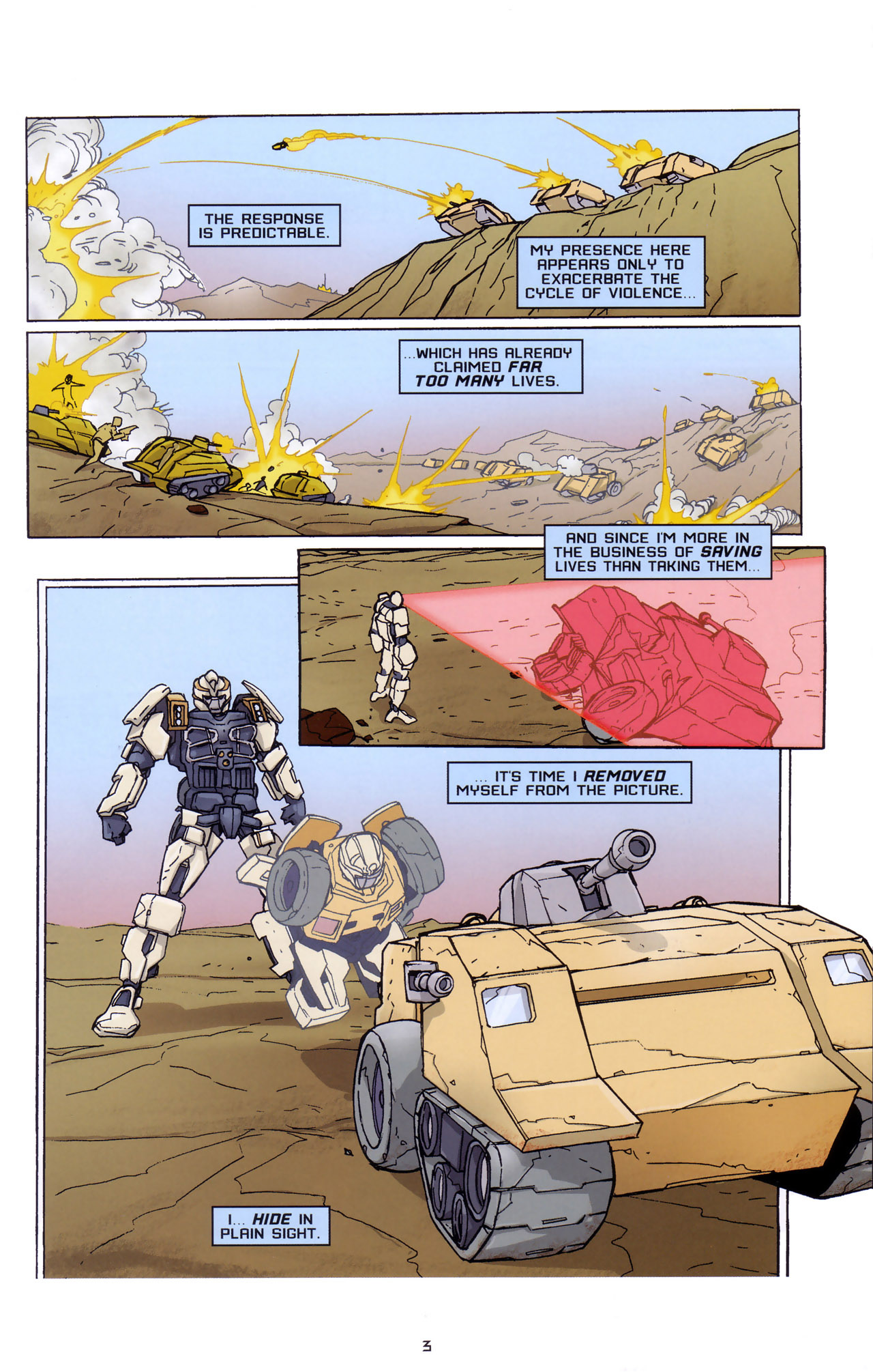 Read online Transformers: Saga of the Allspark comic -  Issue #2 - 6