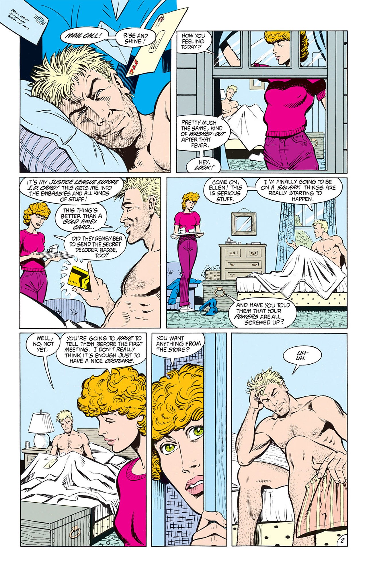 Read online Animal Man (1988) comic -  Issue #8 - 4