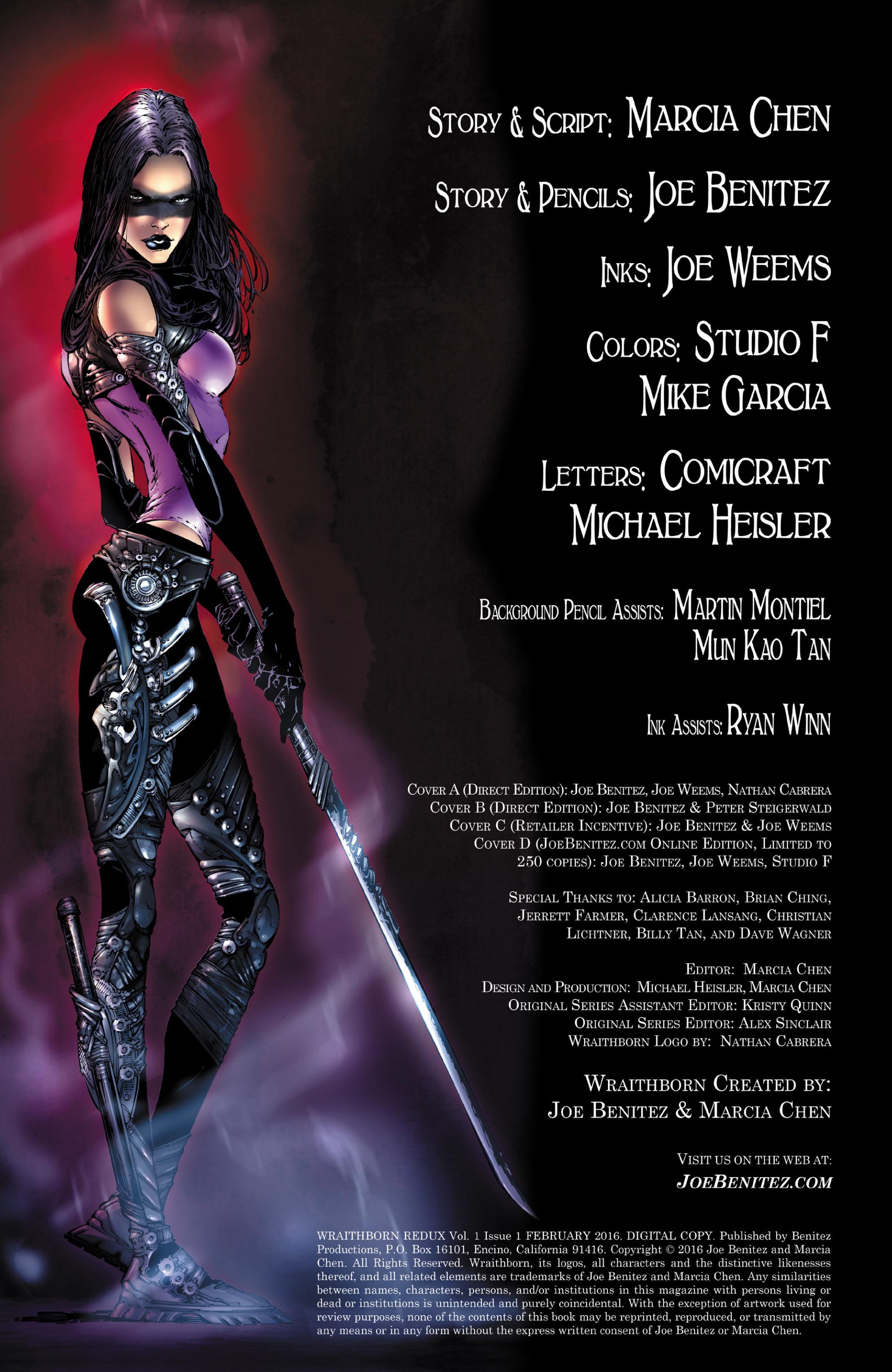 Read online Wraithborn Redux comic -  Issue #1 - 3