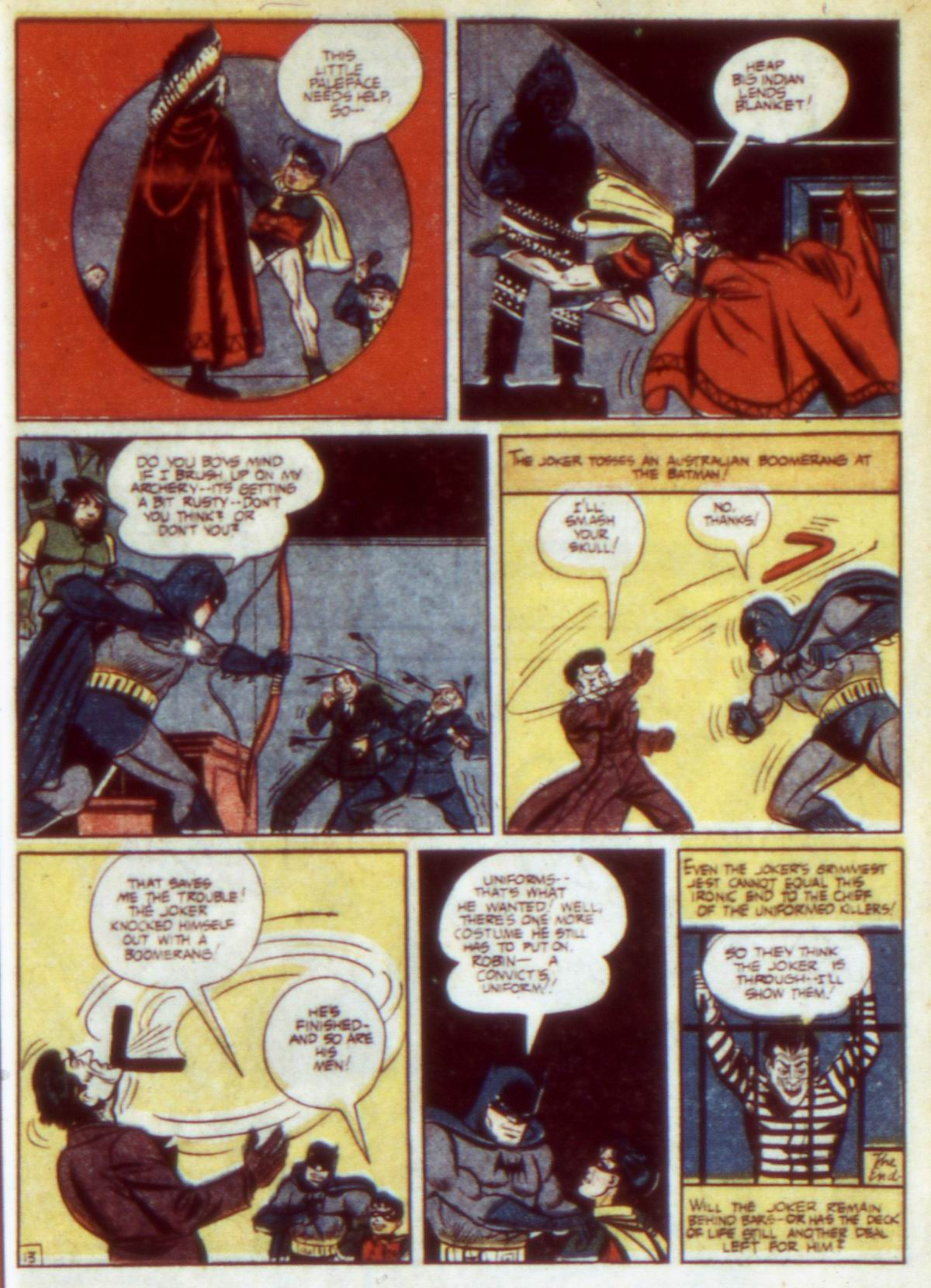 Read online Detective Comics (1937) comic -  Issue #60 - 15