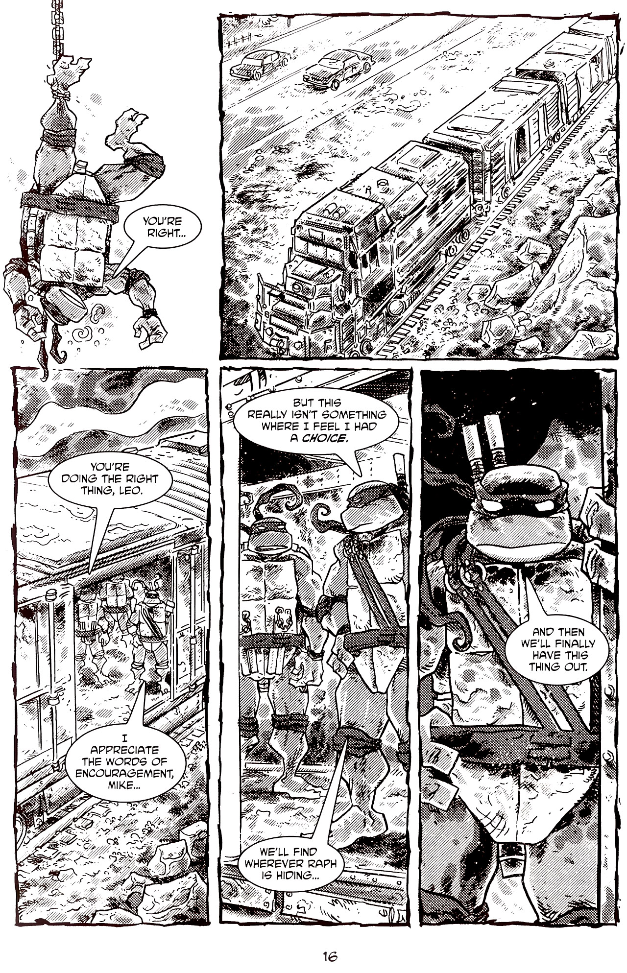 Read online Tales of the TMNT comic -  Issue #70 - 21