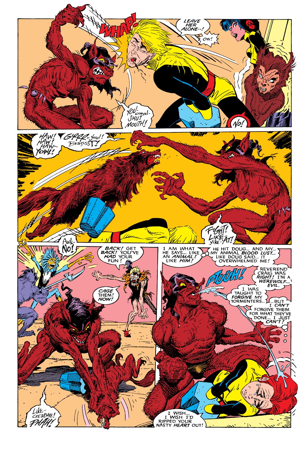 Read online X-Men Milestones: Fall of the Mutants comic -  Issue # TPB (Part 2) - 23