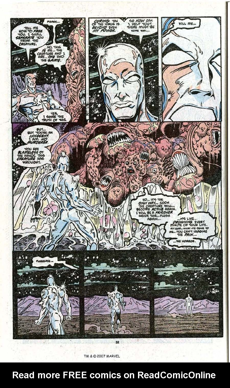 Read online Silver Surfer (1987) comic -  Issue # _Annual 3 - 34