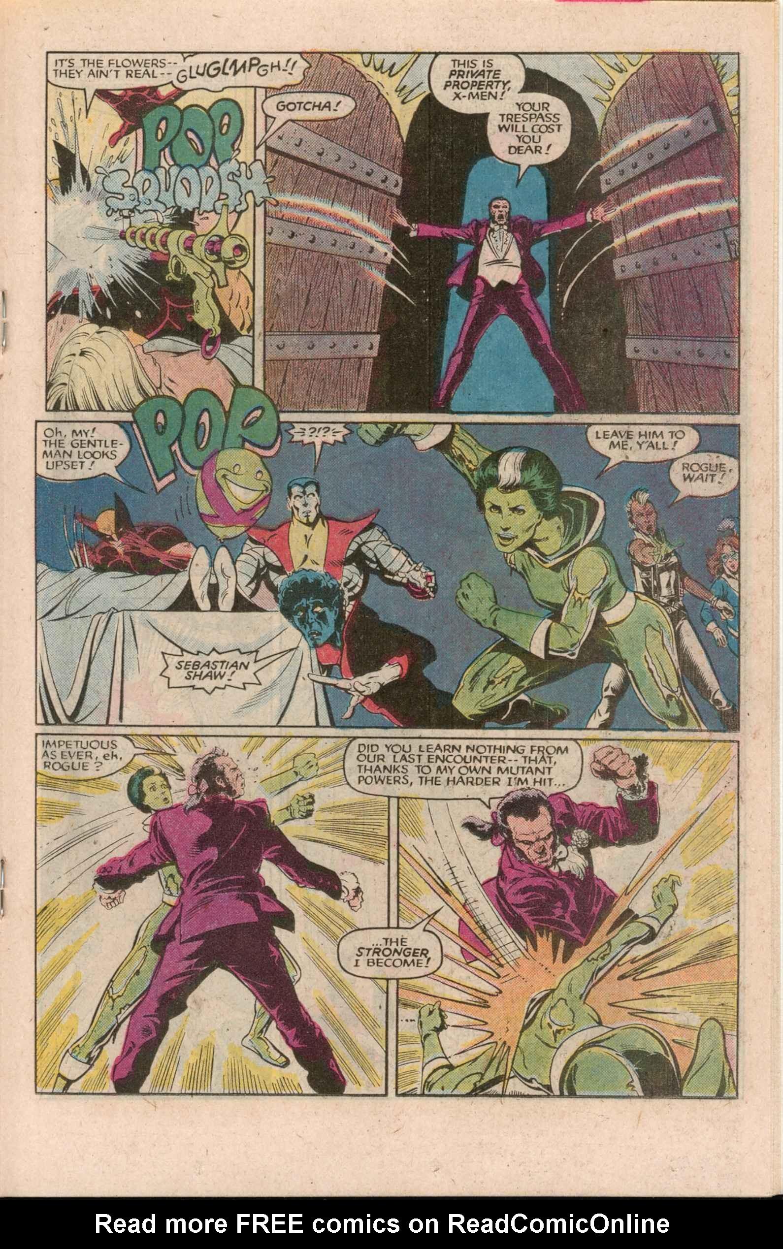 Read online Uncanny X-Men (1963) comic -  Issue # _Annual 7 - 22