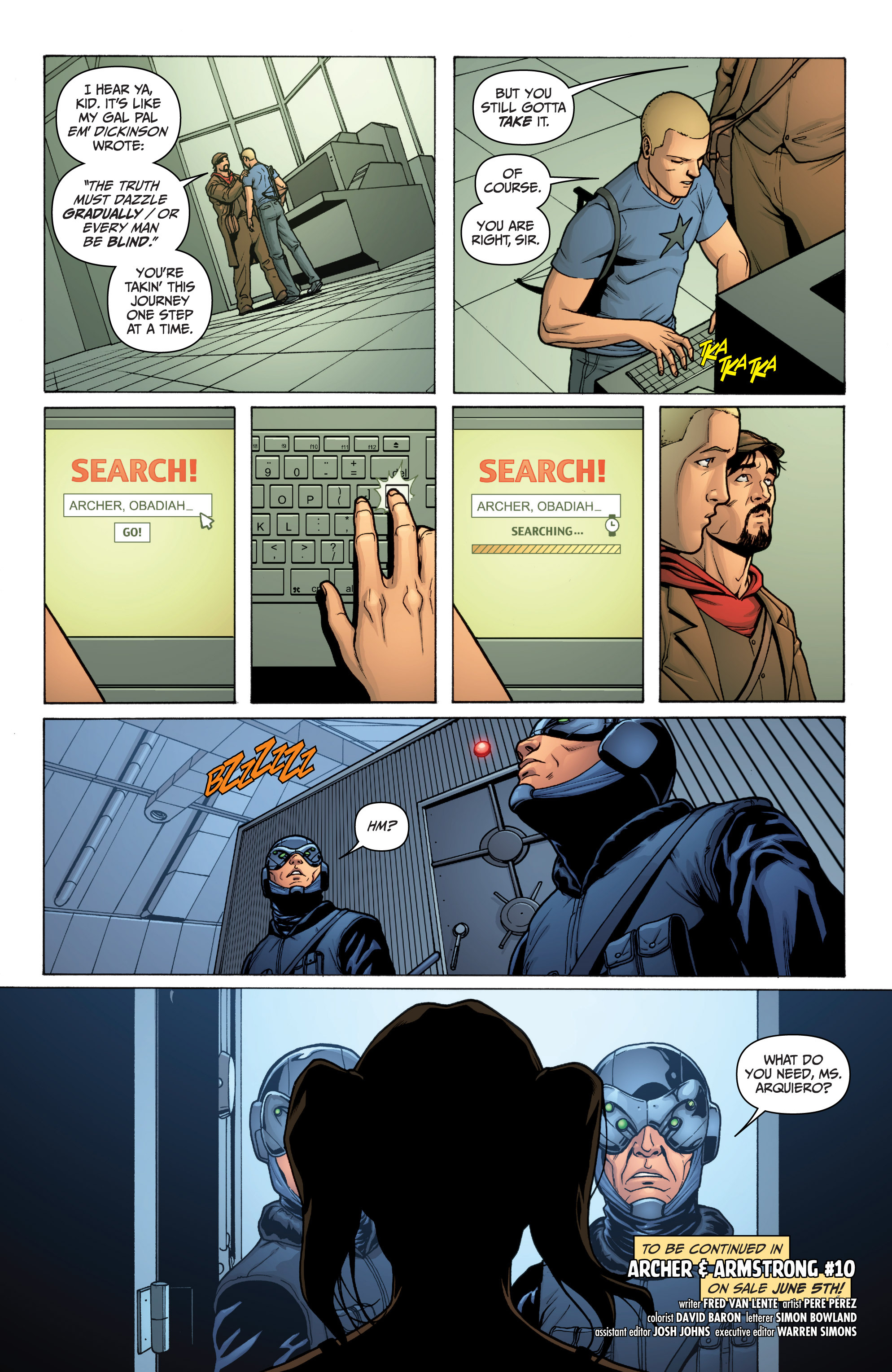Read online Archer and Armstrong comic -  Issue #0 - 26