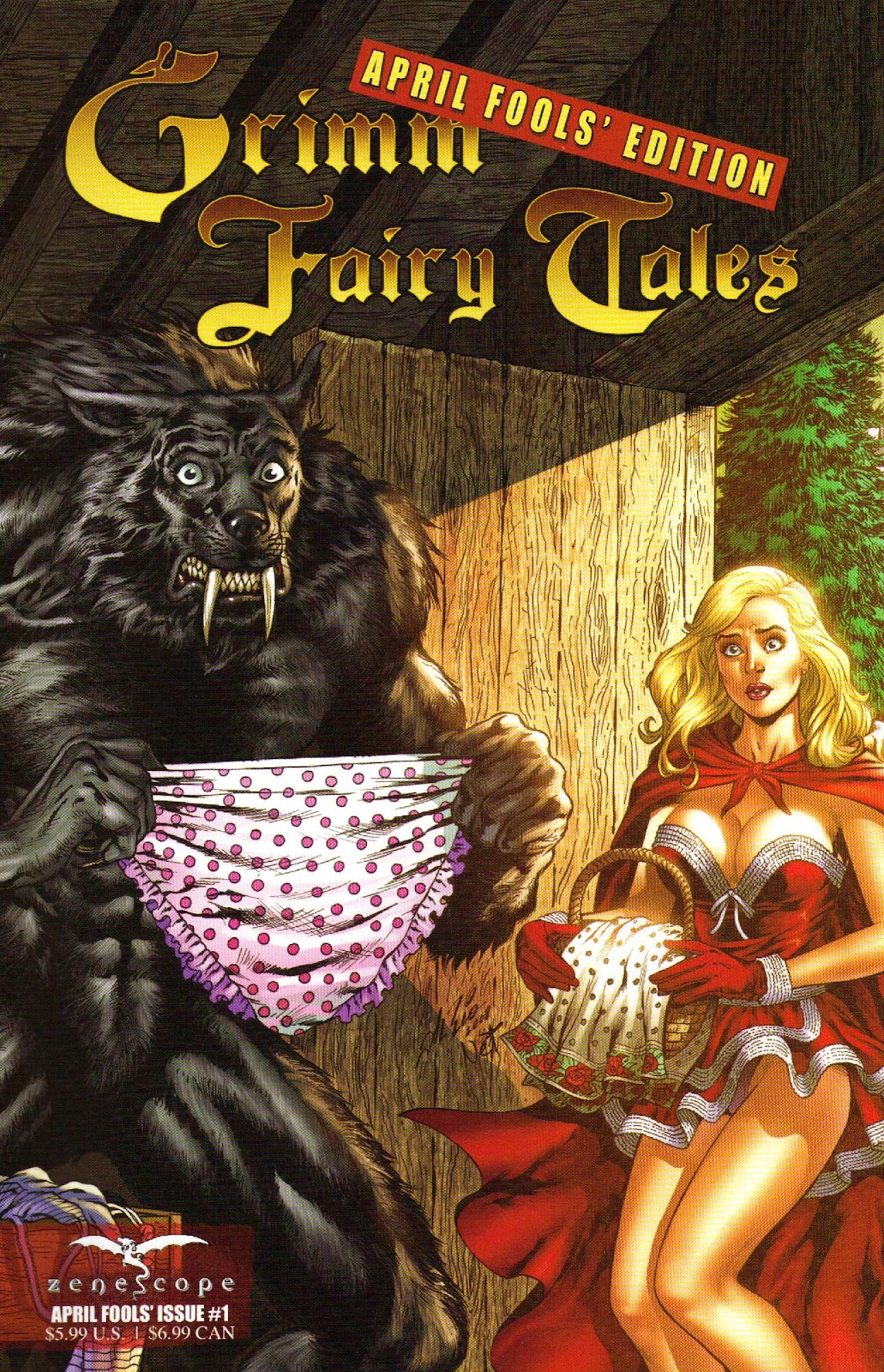 Grimm Fairy Tales: April Fools' Edition issue 1 - Page 1