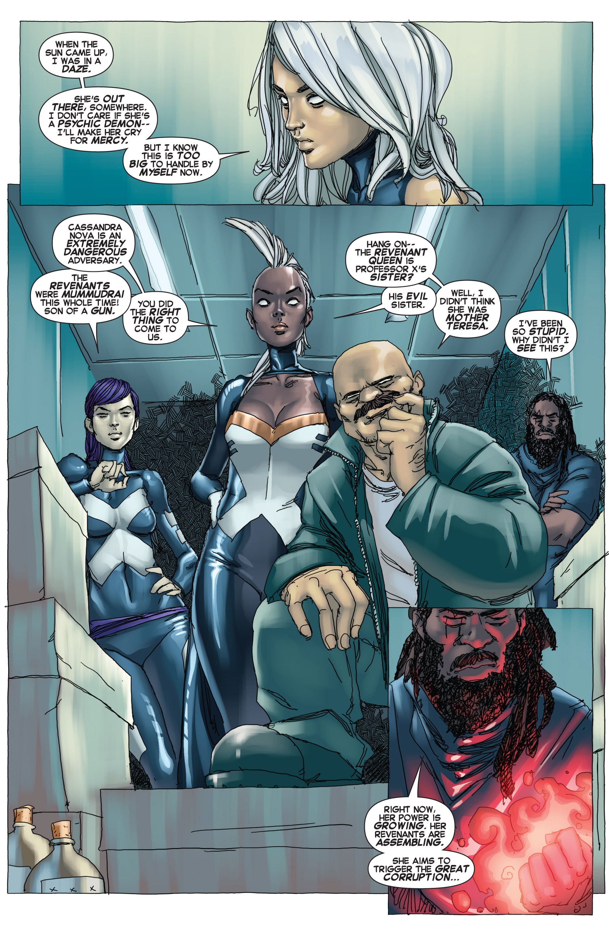 Read online Uncanny X-Force (2013) comic -  Issue #12 - 21