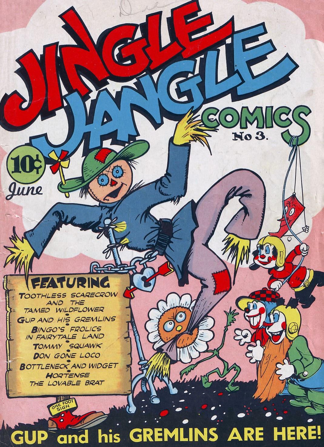 Jingle Jangle Comics 3 Page 1