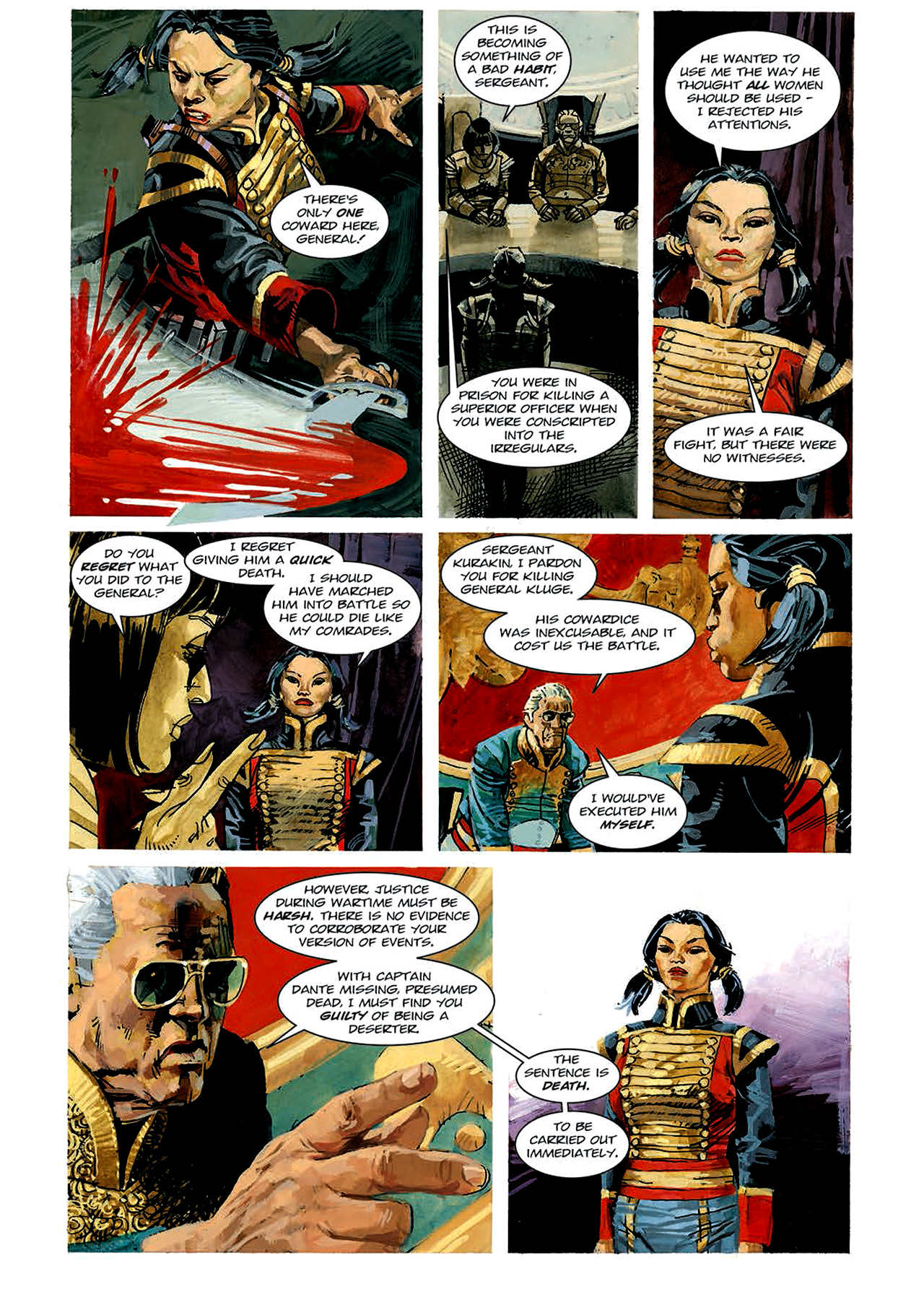 Read online Nikolai Dante comic -  Issue # TPB 4 - 74