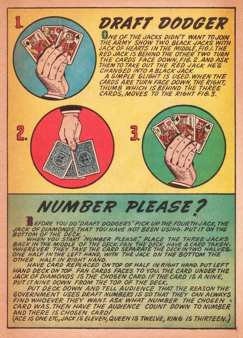 Read online Super-Magician Comics comic -  Issue #2 - 43