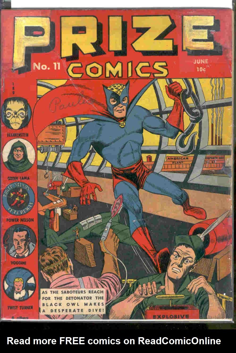Prize Comics 11 Page 1