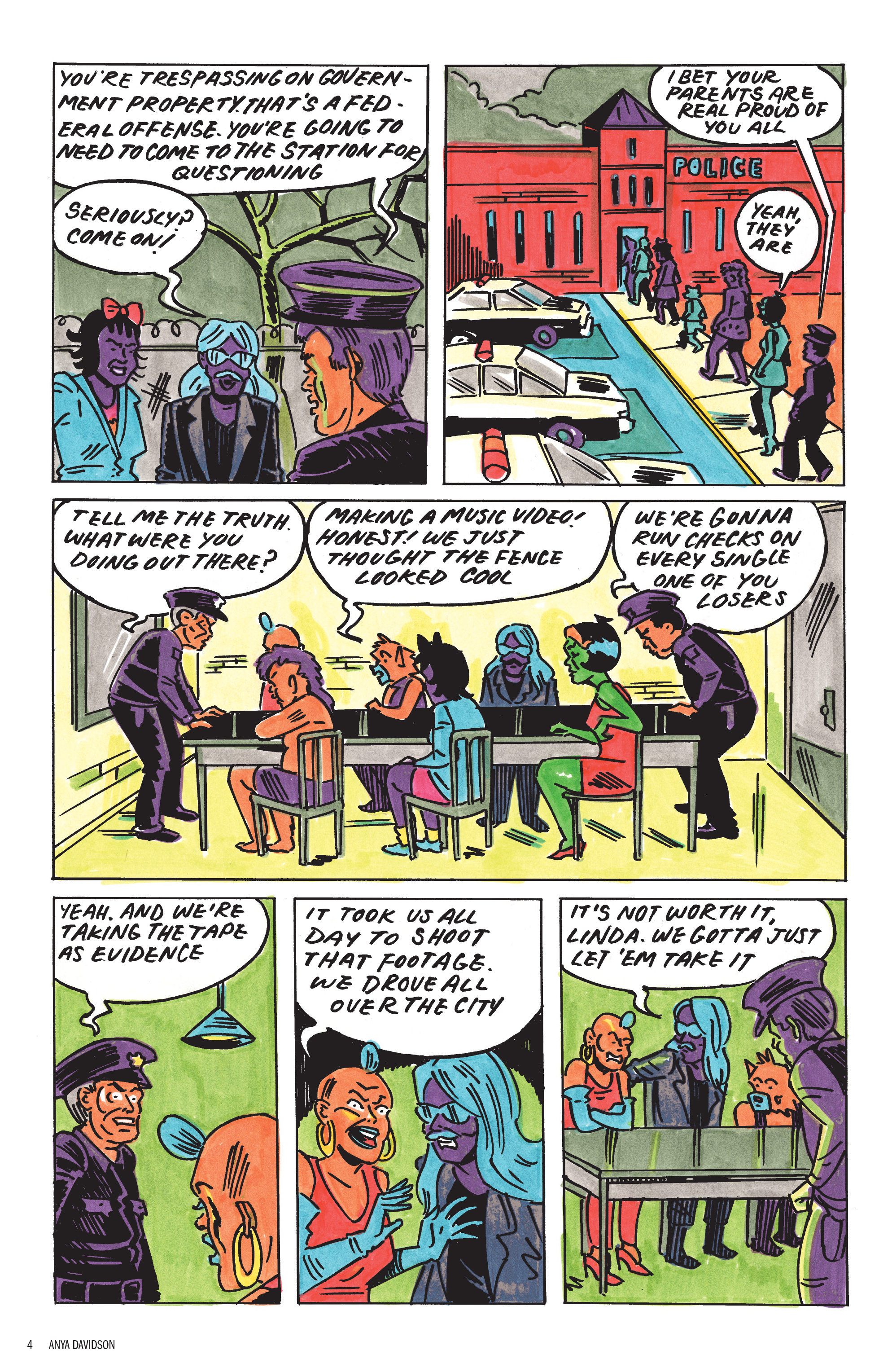 Read online Free Comic Book Day 2017 comic -  Issue # World's Greatest Cartoonists - 5