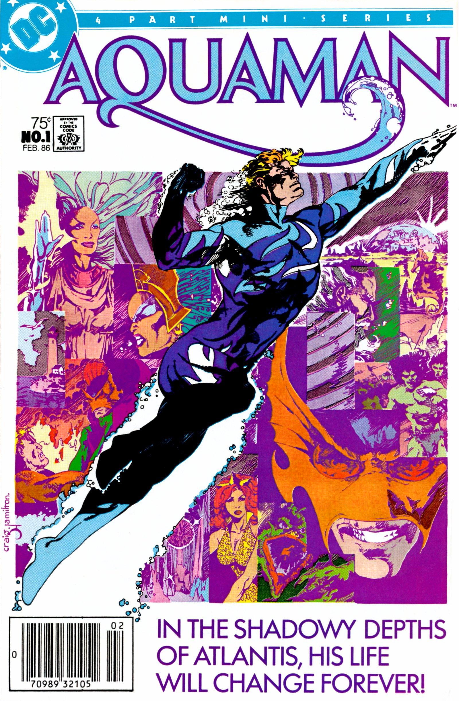 Aquaman (1986) 1 Page 1
