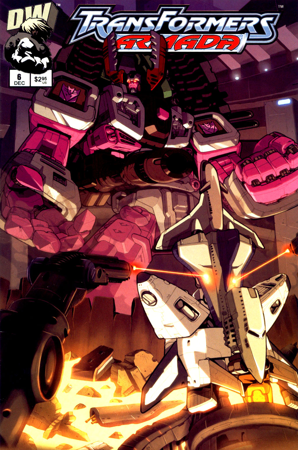 Read online Transformers Armada comic -  Issue #6 - 2
