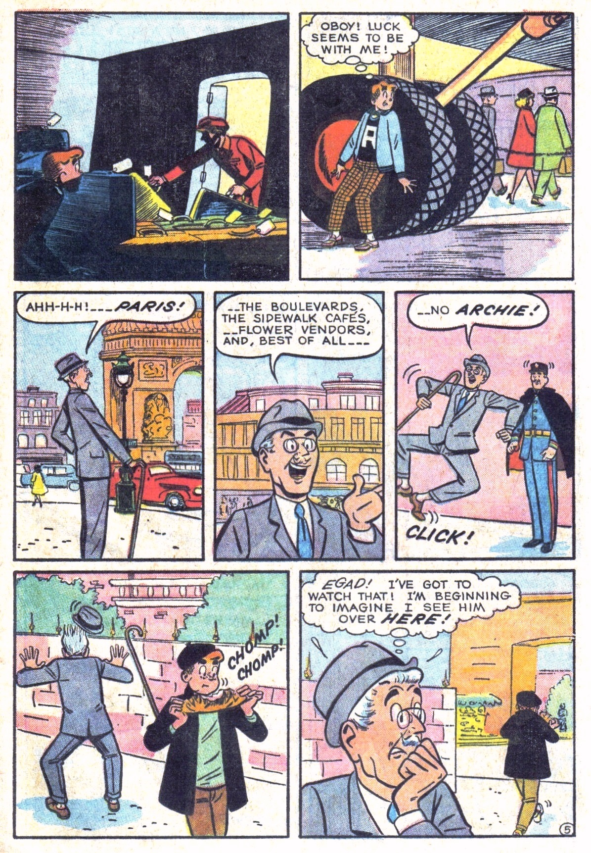 Read online Archie (1960) comic -  Issue #134 - 17