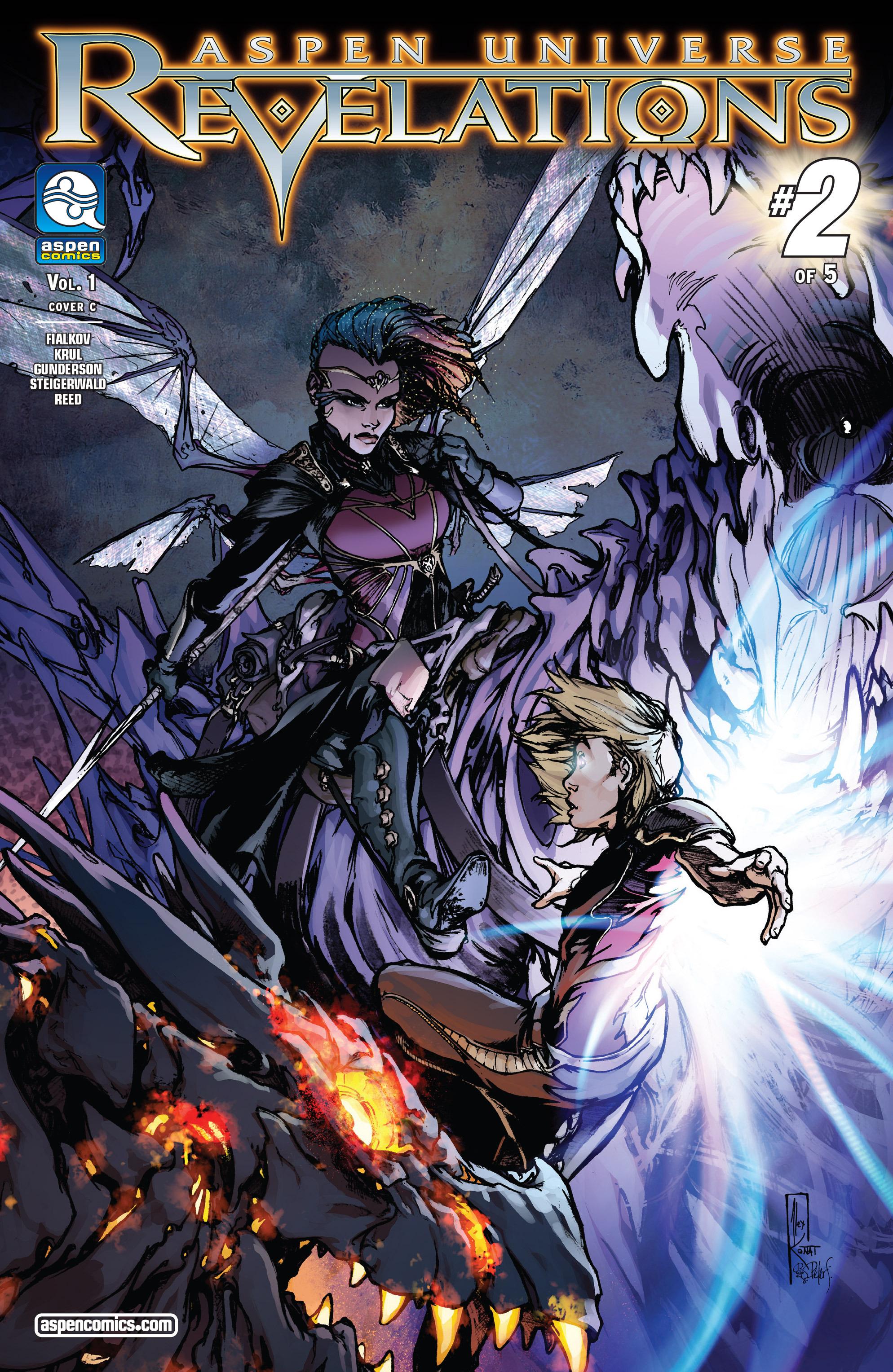 Read online Aspen Universe: Revelations comic -  Issue #2 - 3