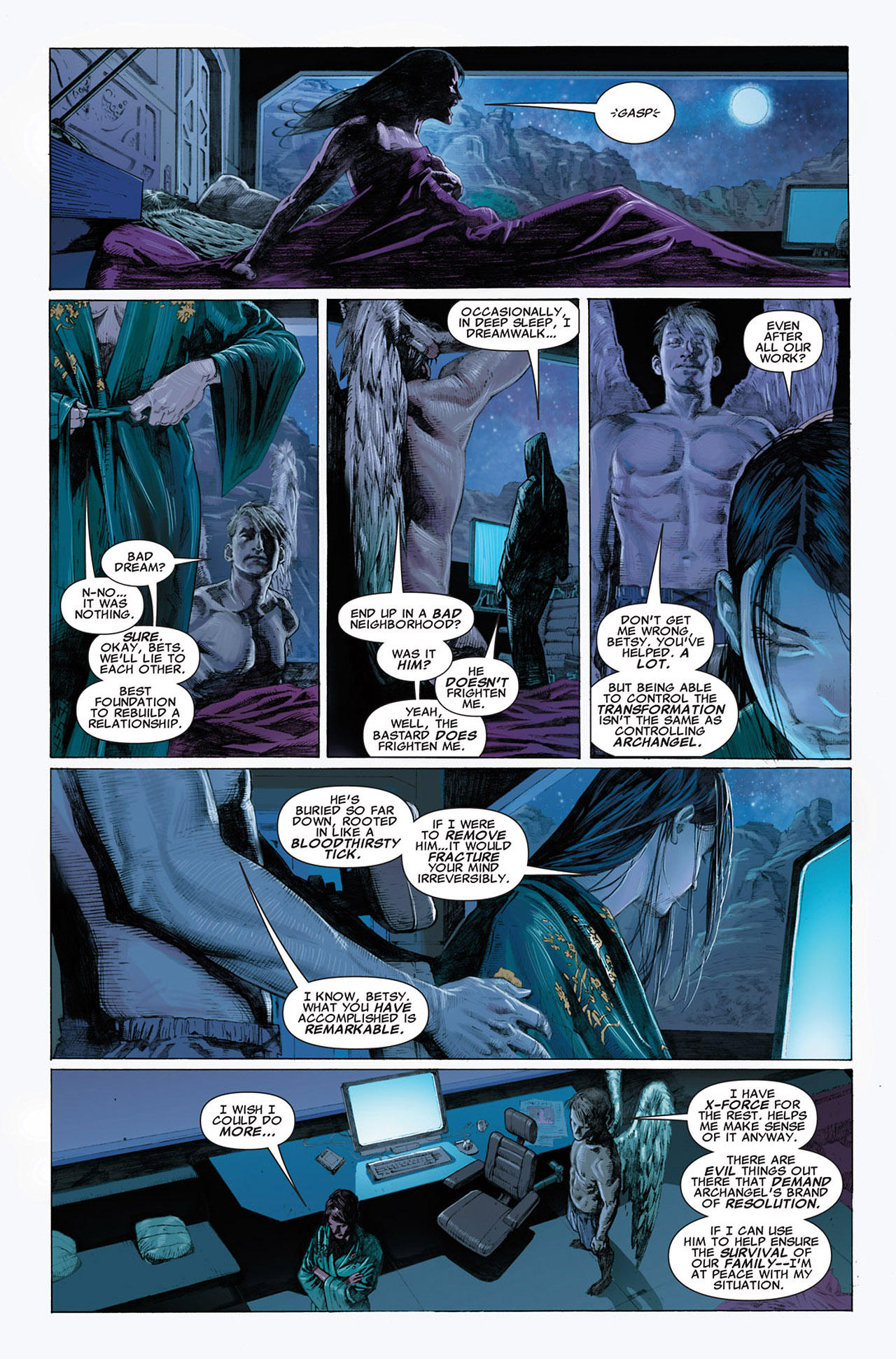 Read online Uncanny X-Force (2010) comic -  Issue #1 - 8