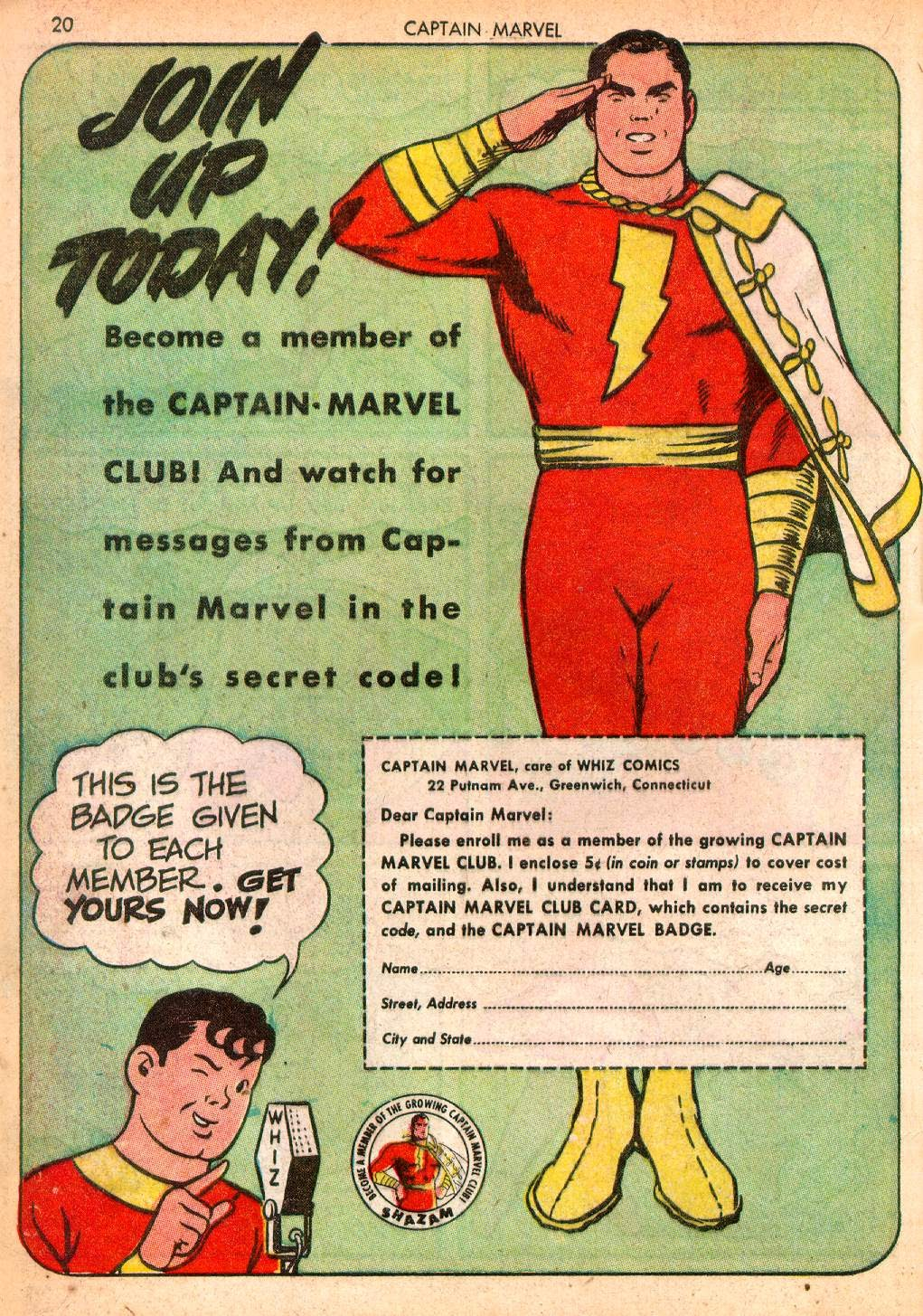 Captain Marvel Adventures issue 10 - Page 20