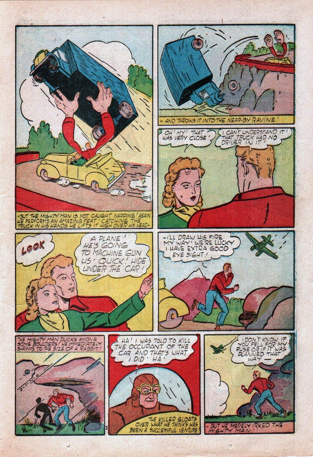 Read online Amazing Man Comics comic -  Issue #20 - 32