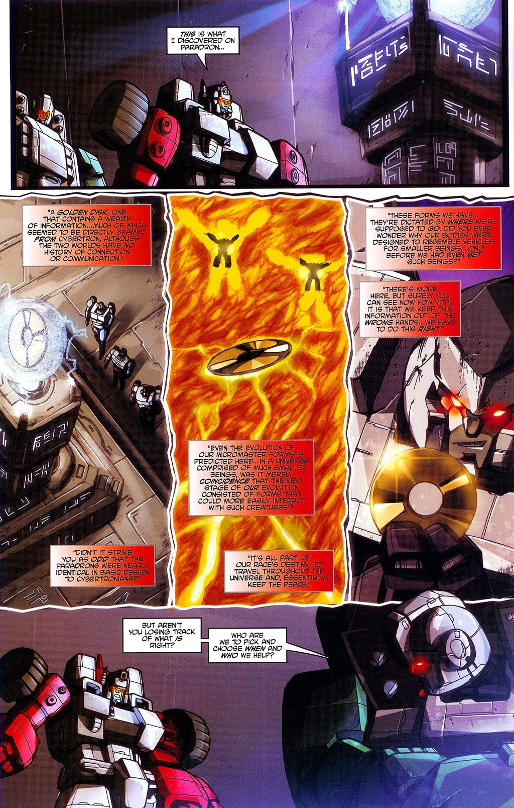 Read online Transformers: Micromasters comic -  Issue #3 - 10