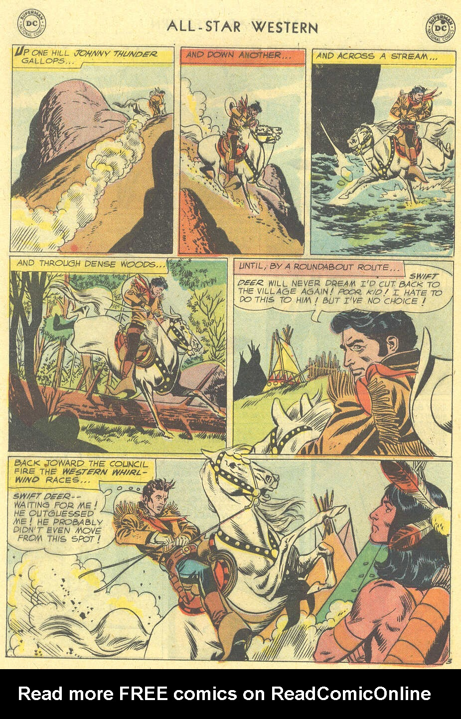 Read online All-Star Western (1951) comic -  Issue #101 - 28