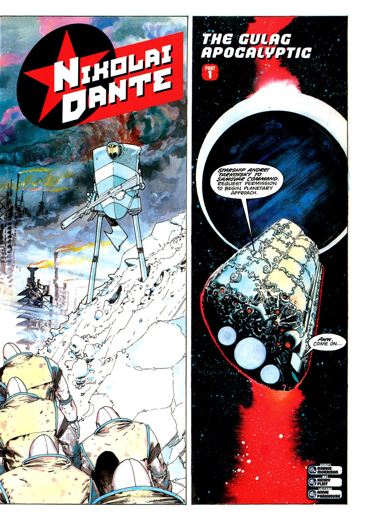 Read online Nikolai Dante comic -  Issue # TPB 1 - 156